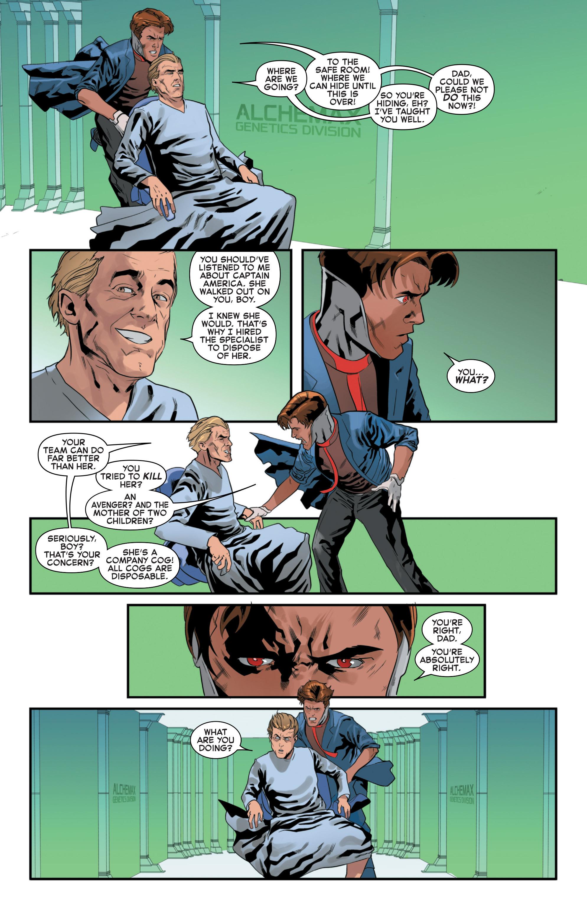 Read online Secret Wars 2099 comic -  Issue #5 - 10