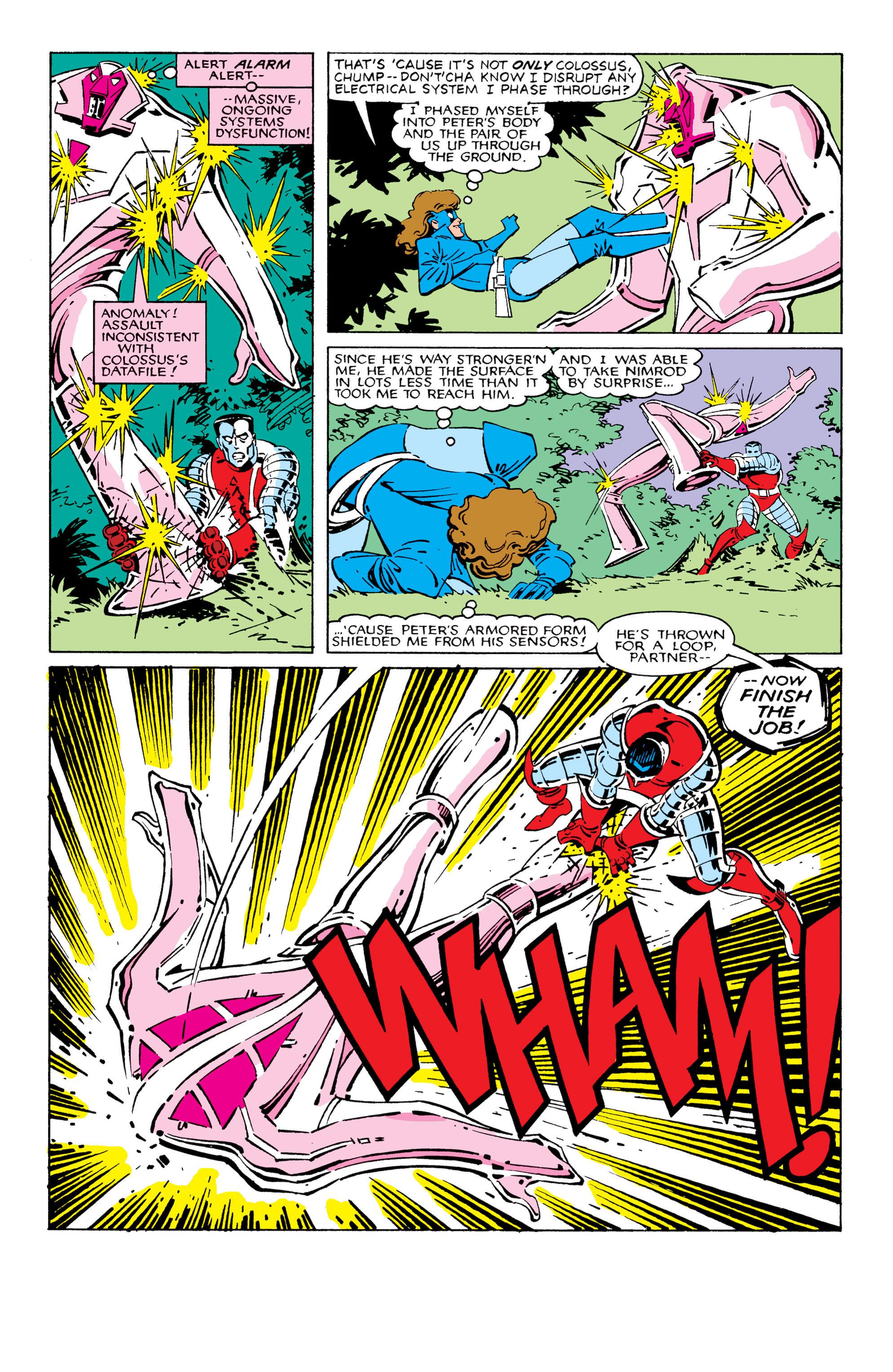 Read online Uncanny X-Men (1963) comic -  Issue #209 - 18