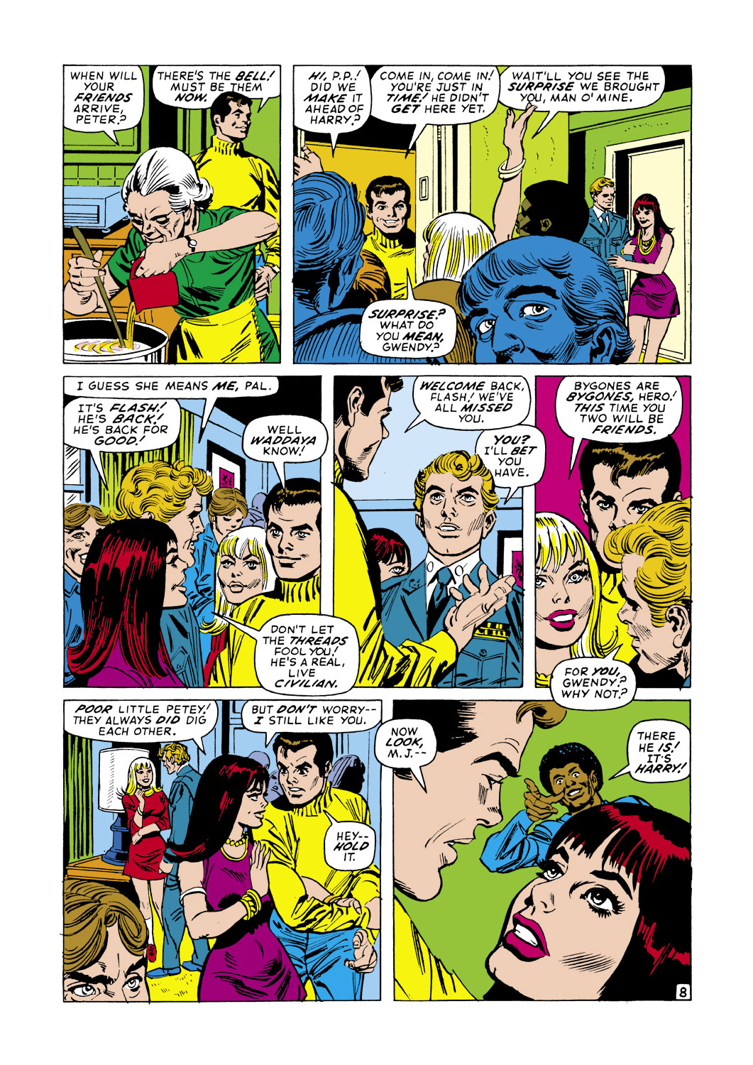 The Amazing Spider-Man (1963) 105 Page 8