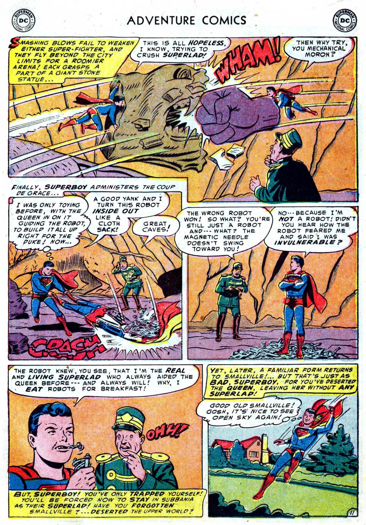 Read online Adventure Comics (1938) comic -  Issue #199 - 12
