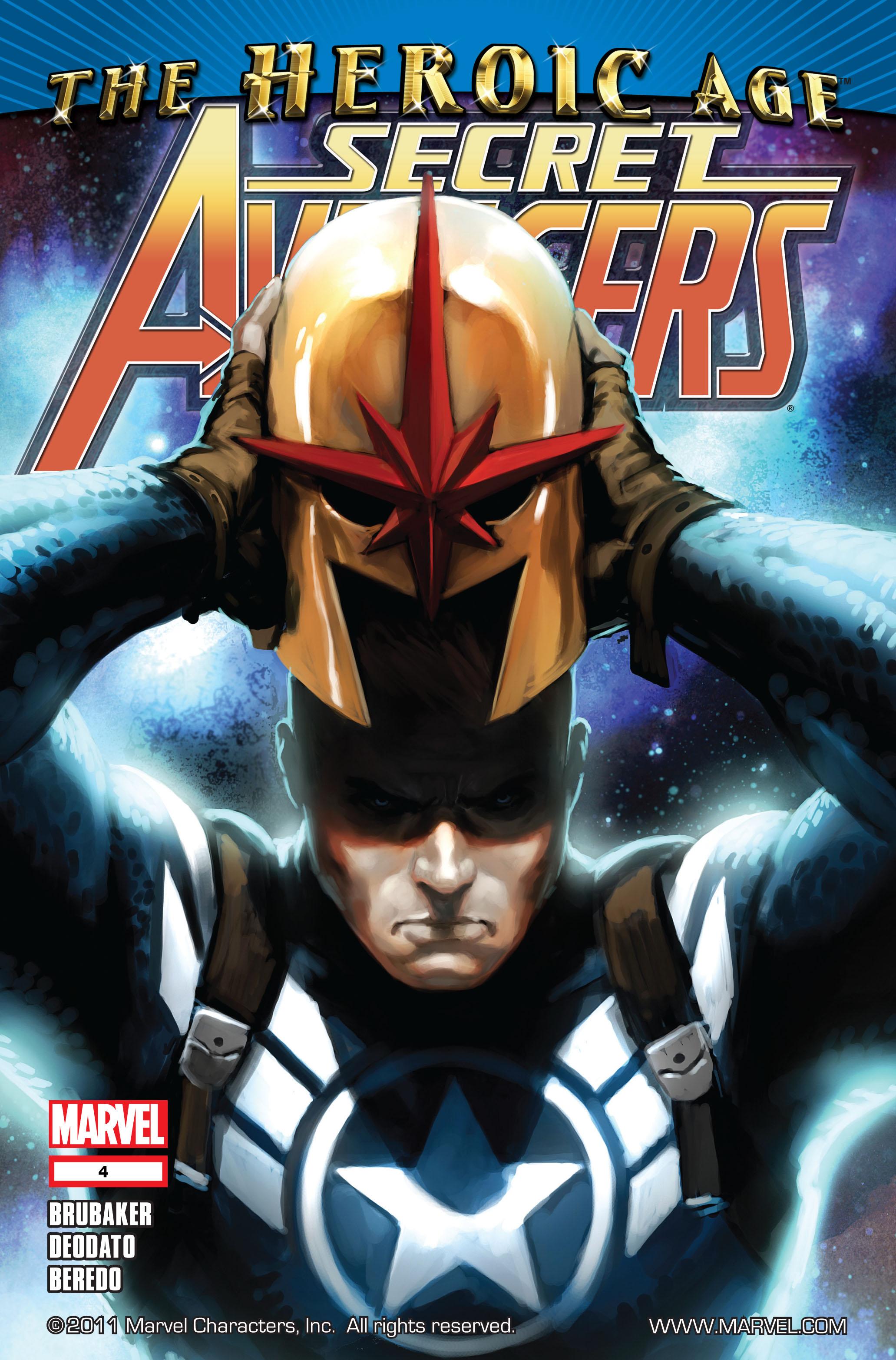 Read online Secret Avengers (2010) comic -  Issue #4 - 1