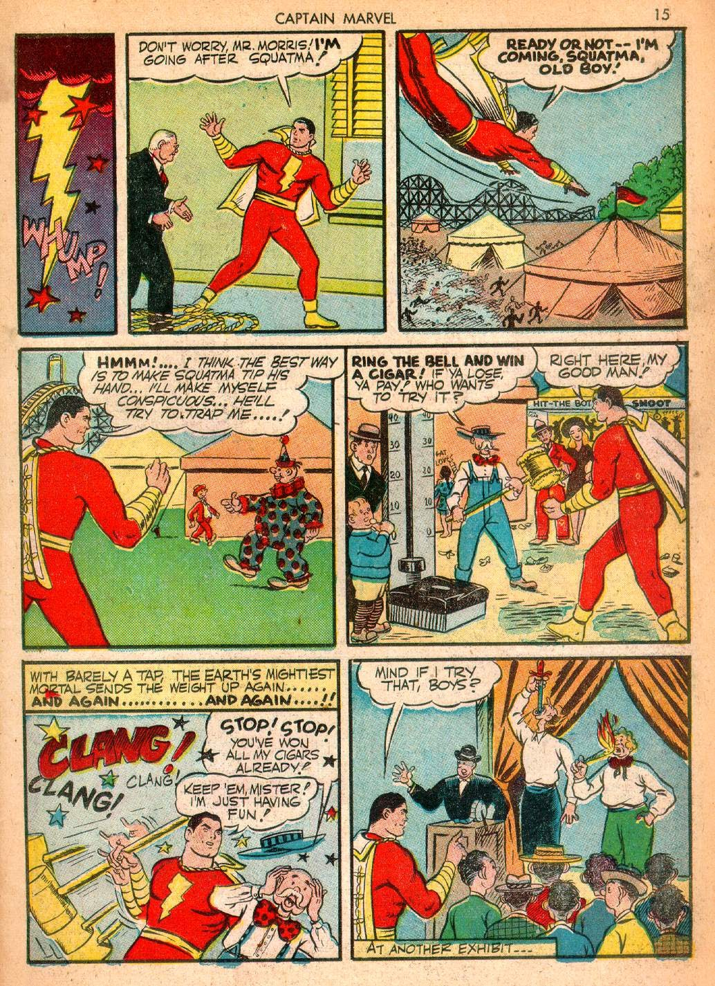 Captain Marvel Adventures issue 10 - Page 15