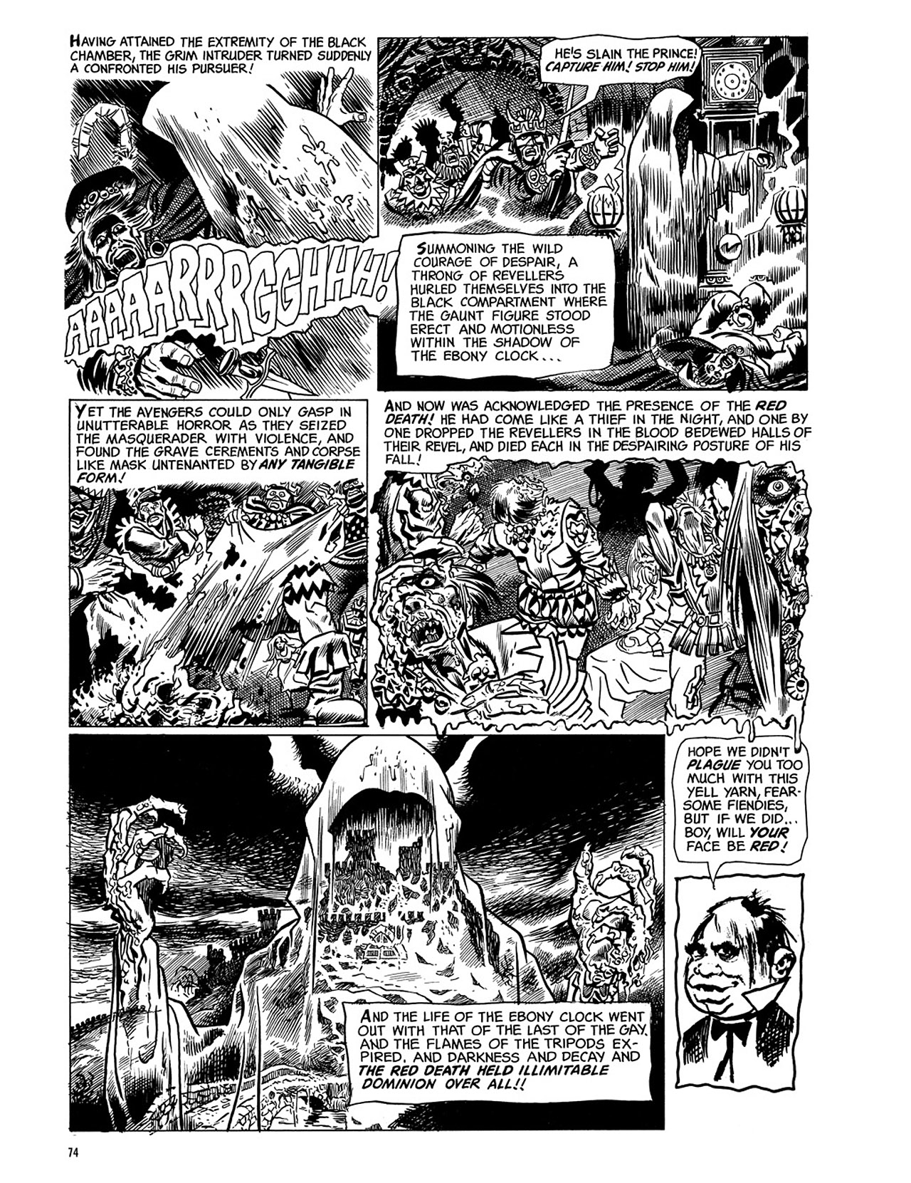 Read online Eerie Archives comic -  Issue # TPB 3 - 75