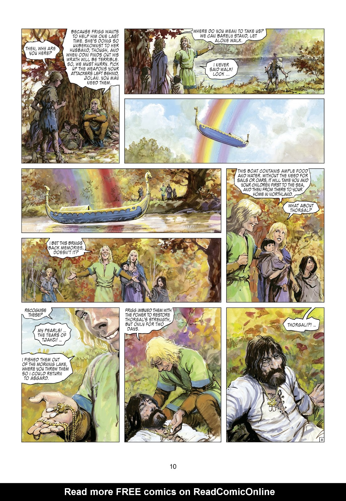 Read online Thorgal comic -  Issue #21 - 12