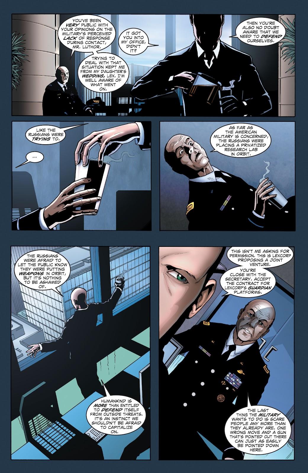 Read online Smallville Season 11 [II] comic -  Issue # TPB 1 - 21
