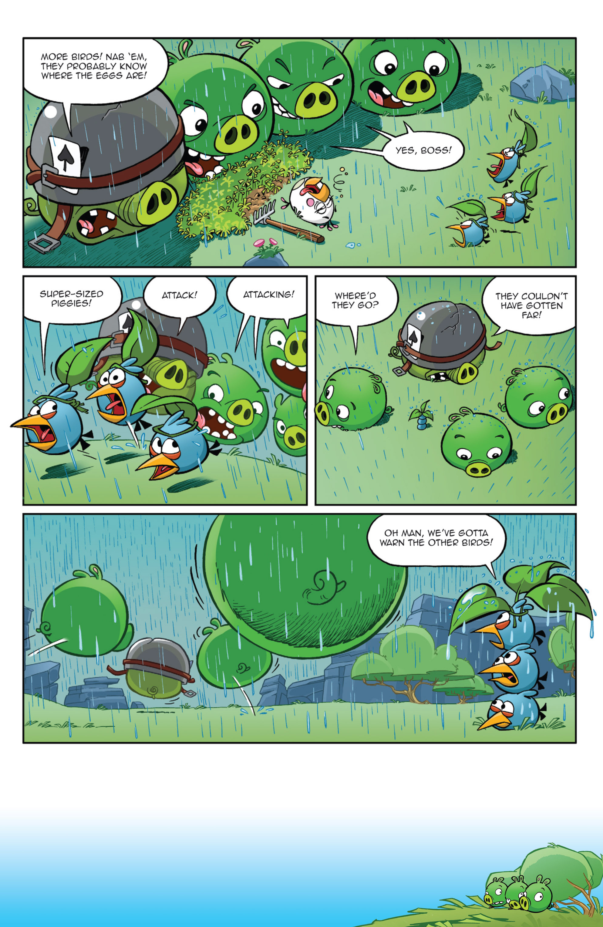 Read online Angry Birds Comics (2014) comic -  Issue #9 - 7