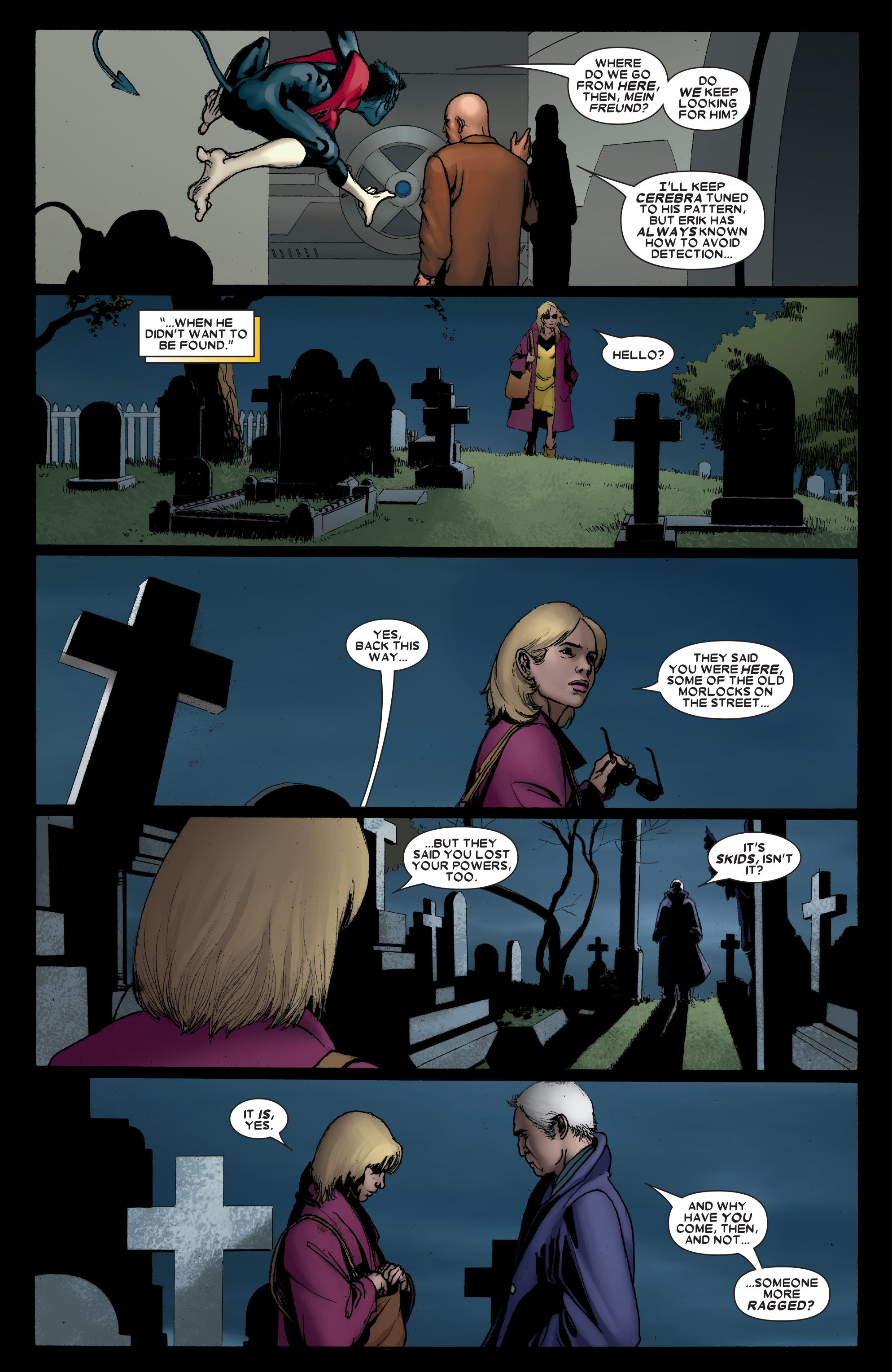 Read online Uncanny X-Men (1963) comic -  Issue #491 - 22