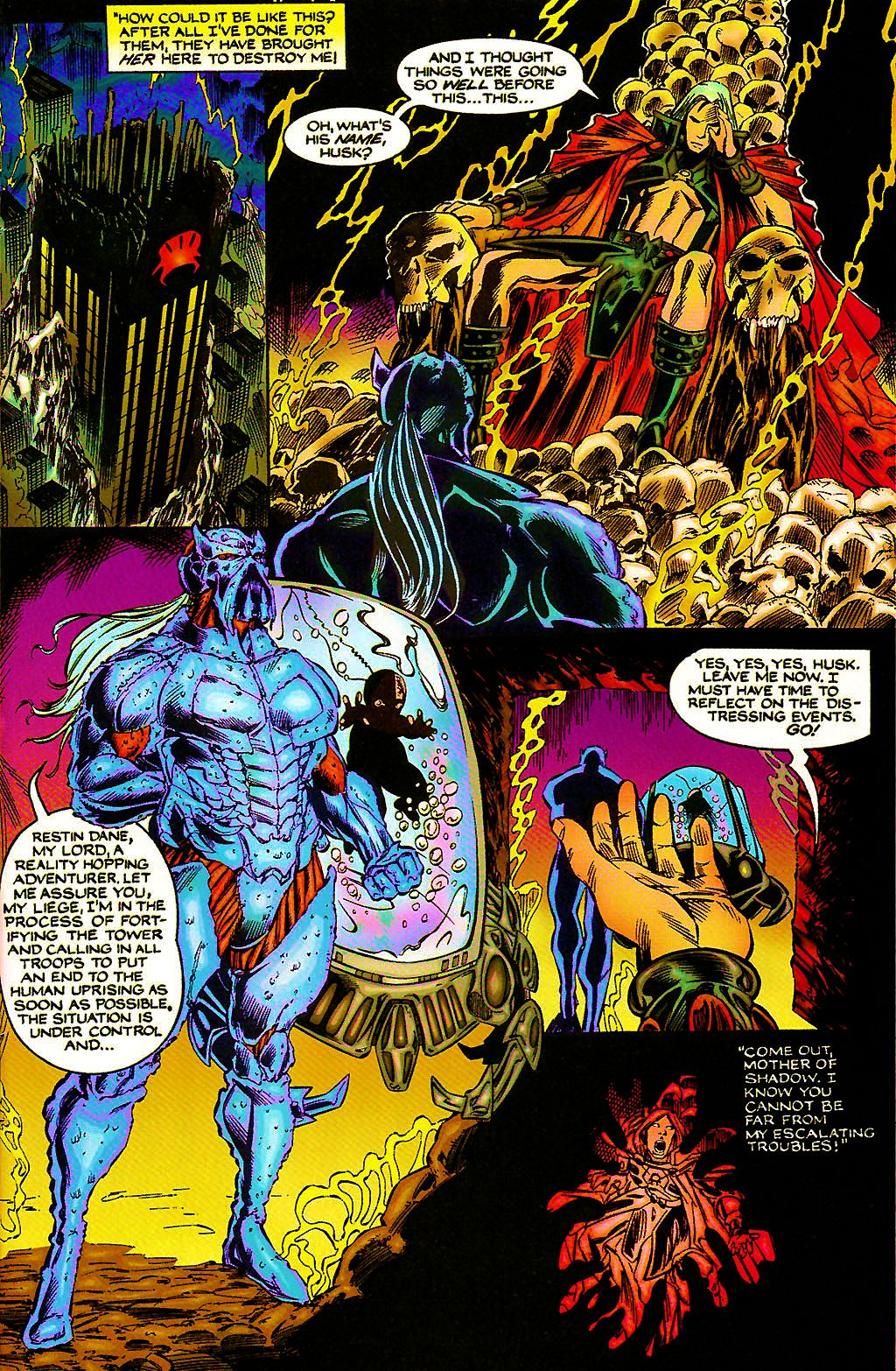 Read online Chains of Chaos comic -  Issue #3 - 5
