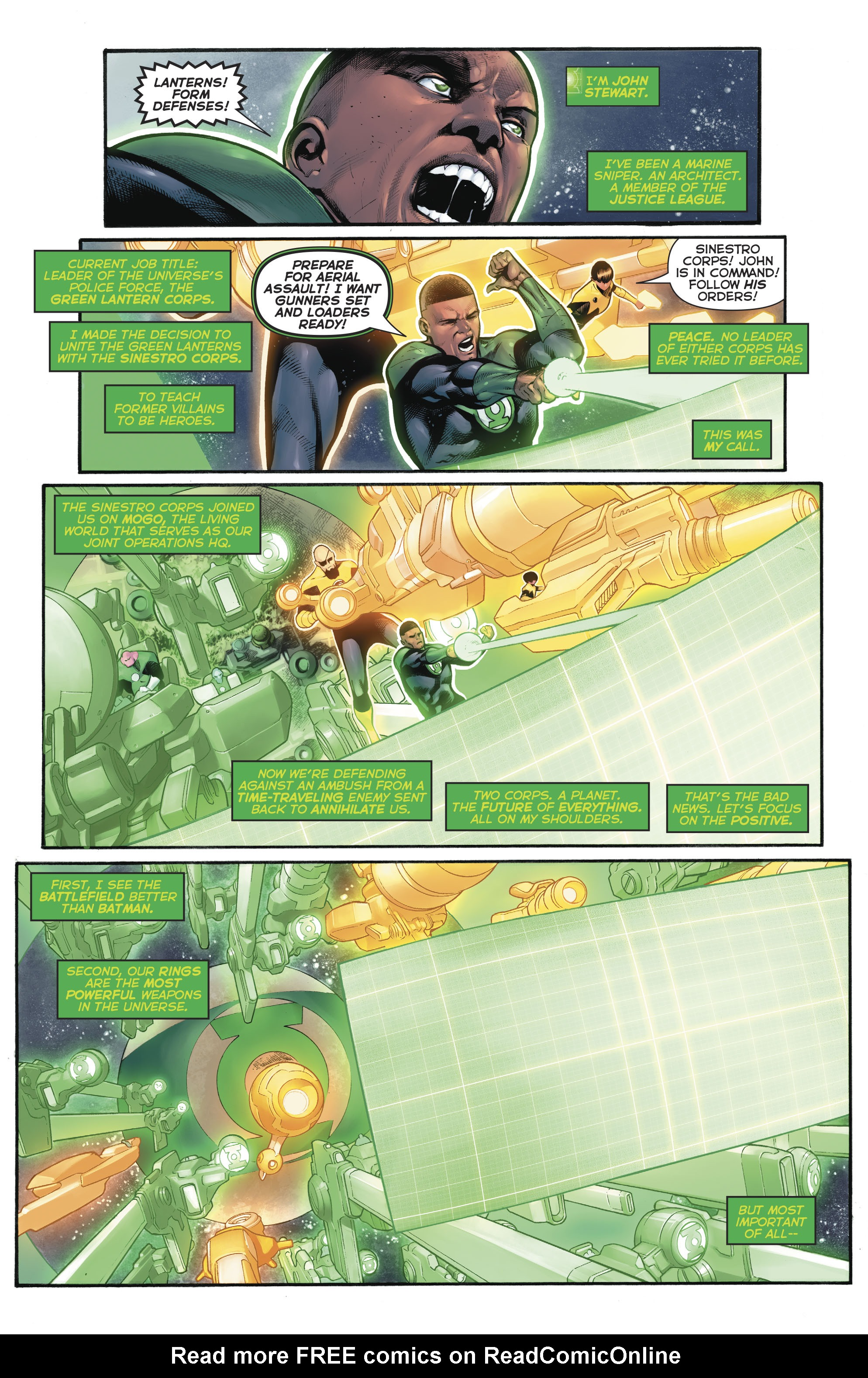 Read online Hal Jordan And The Green Lantern Corps comic -  Issue #20 - 4