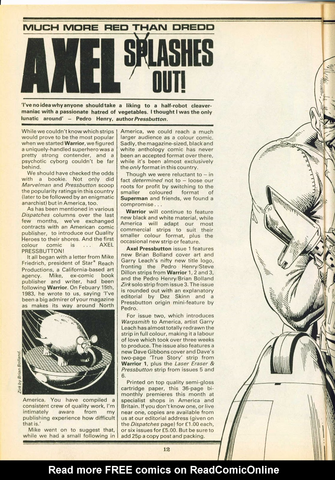 Warrior Issue #24 #25 - English 12