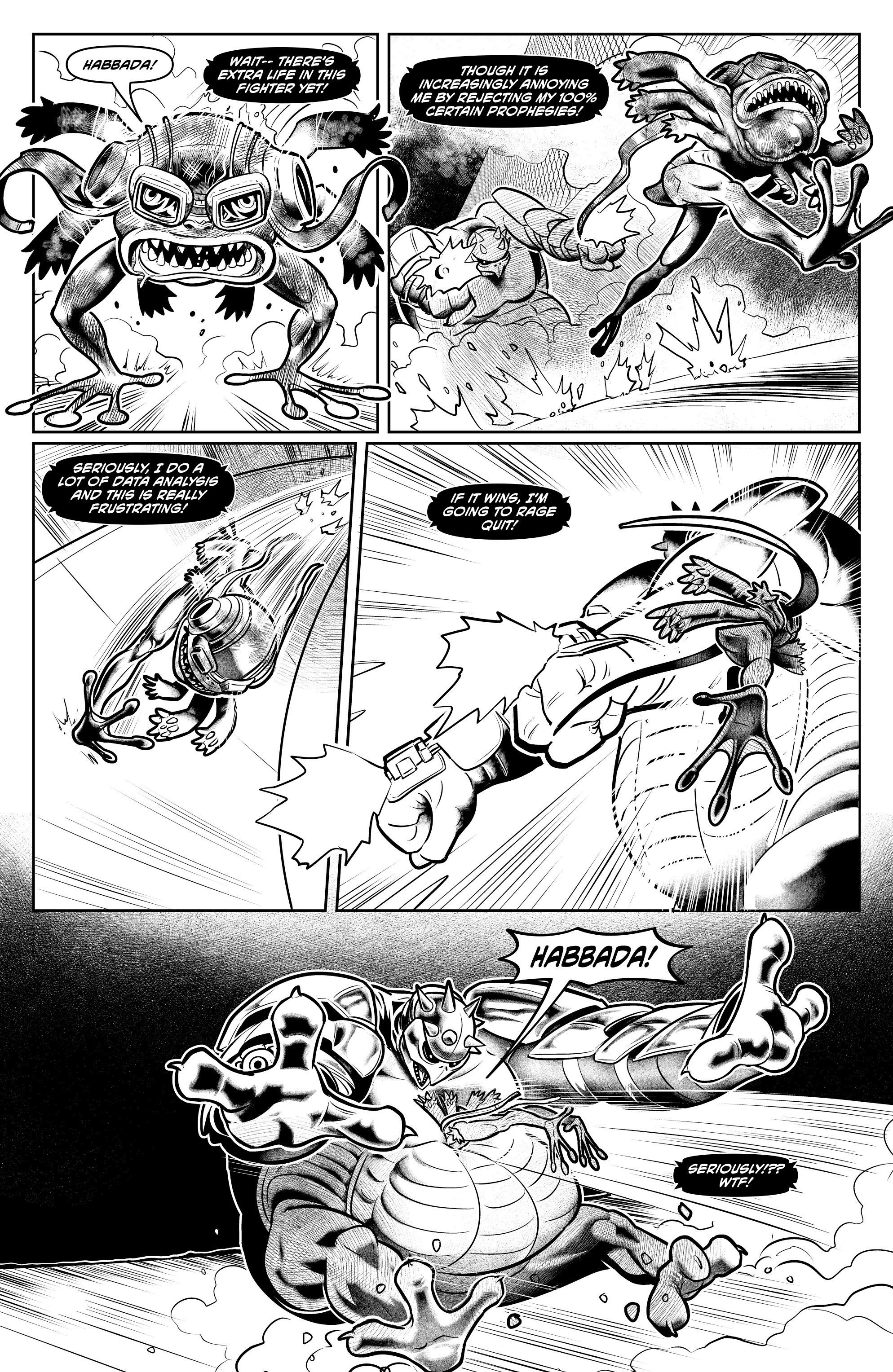 Read online Alan Moore's Cinema Purgatorio comic -  Issue #6 - 31
