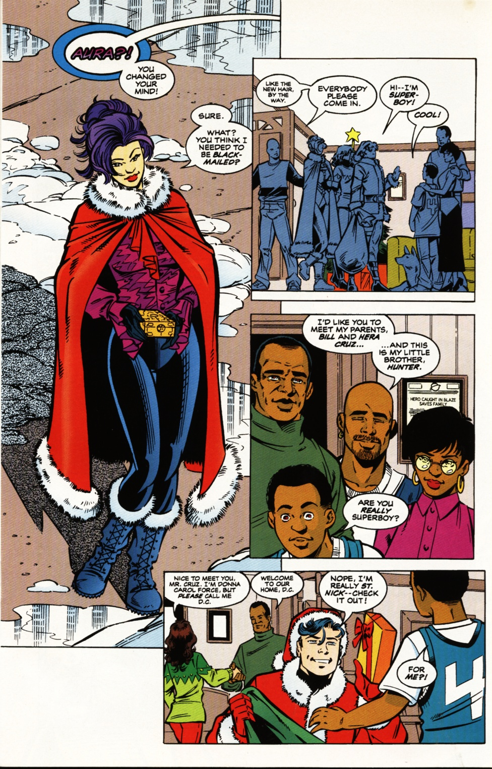 Read online Superboy & The Ravers comic -  Issue #5 - 10