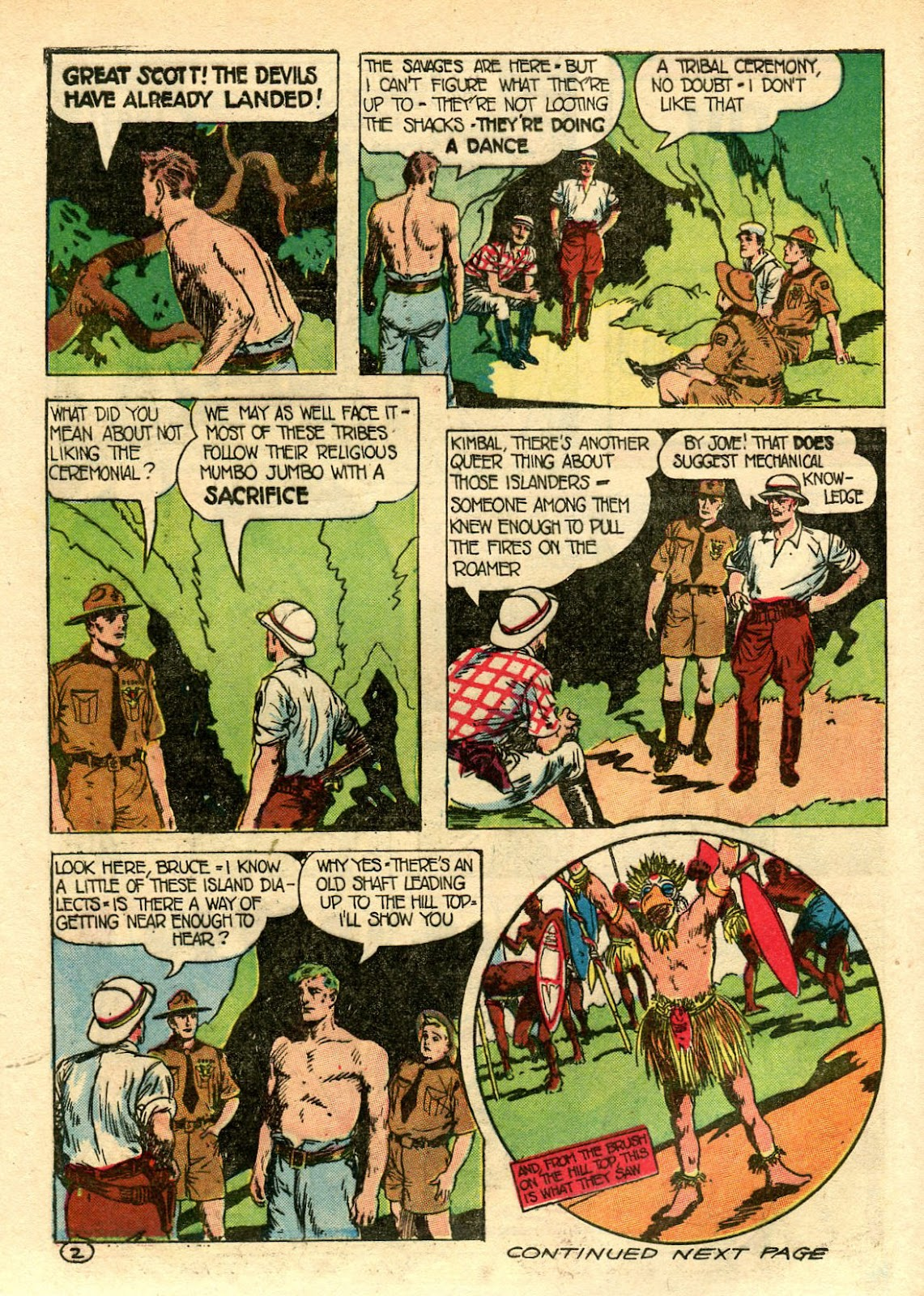 Read online Famous Funnies comic -  Issue #106 - 52