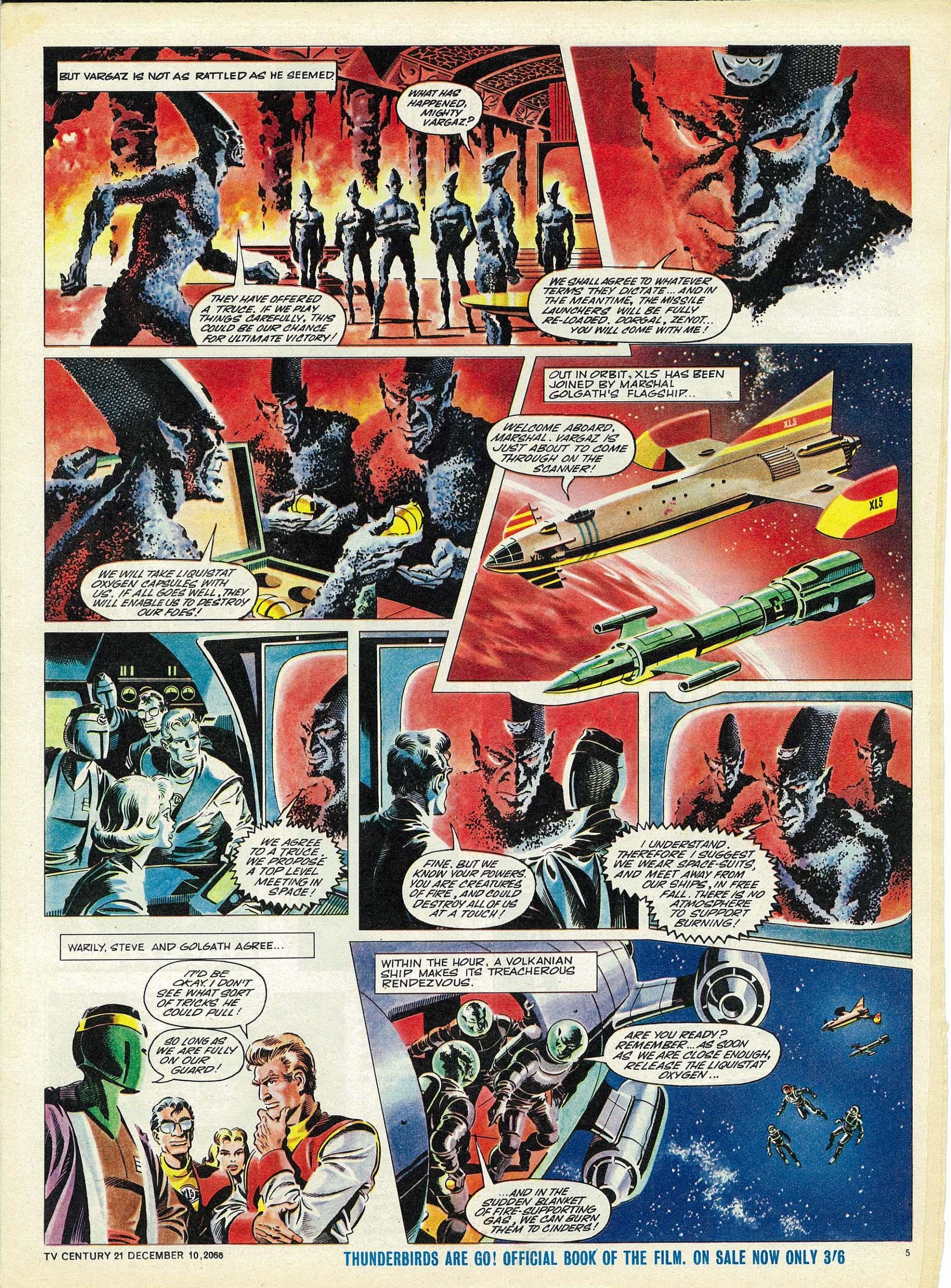 Read online TV Century 21 (TV 21) comic -  Issue #99 - 5