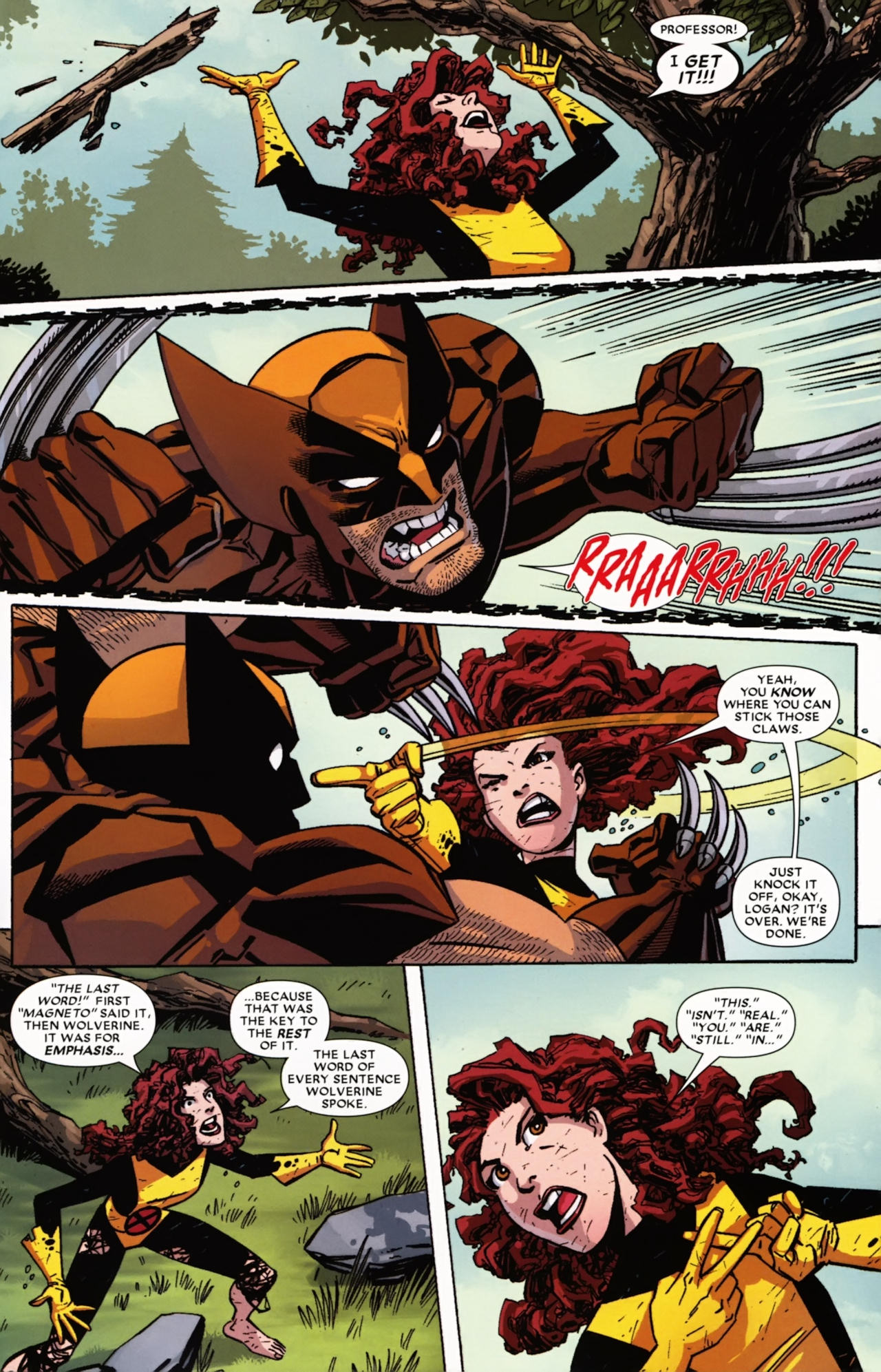 Read online Wolverine: First Class comic -  Issue #21 - 22