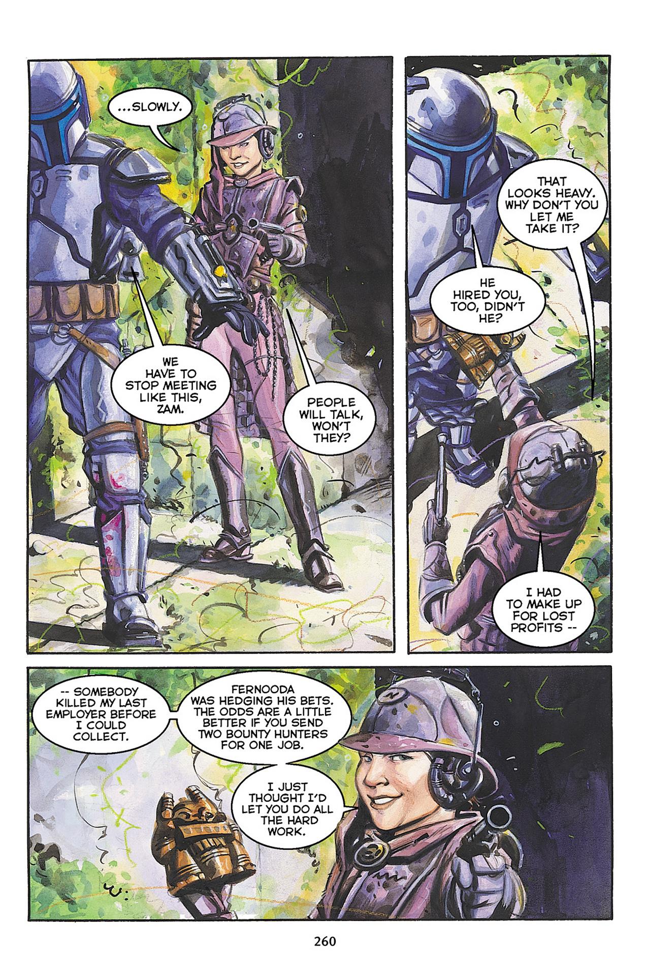 Read online Star Wars Omnibus comic -  Issue # Vol. 10 - 257