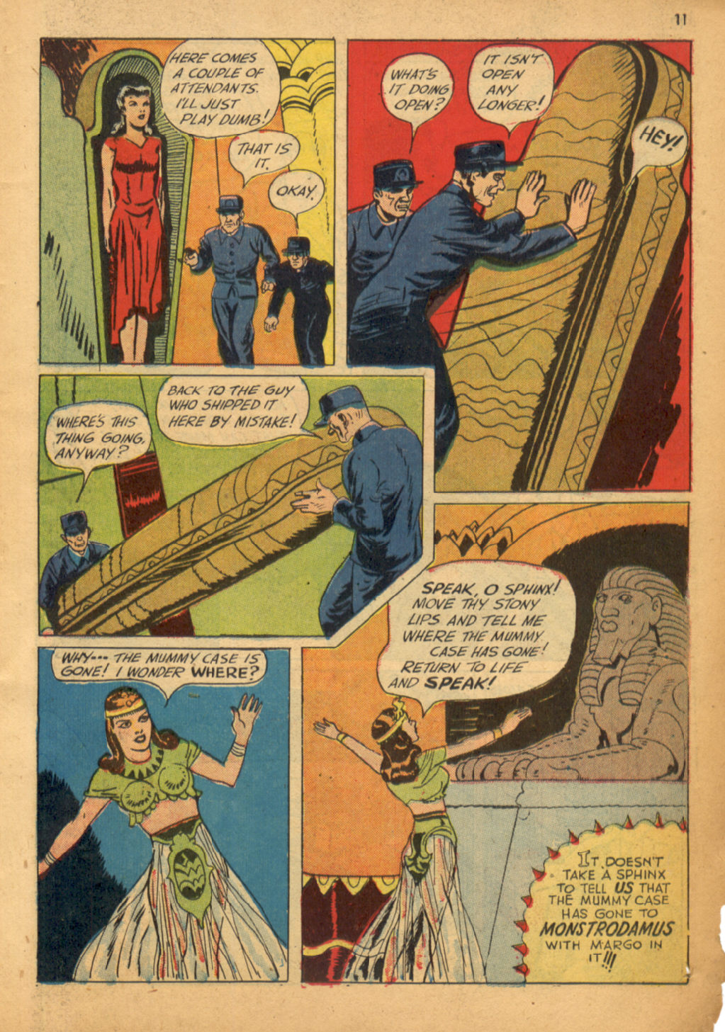 Read online Shadow Comics comic -  Issue #32 - 12