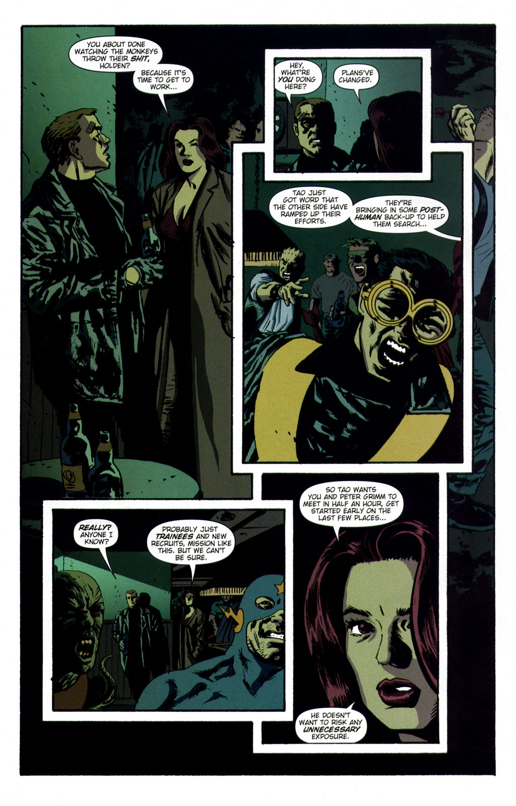Read online Sleeper comic -  Issue #9 - 14