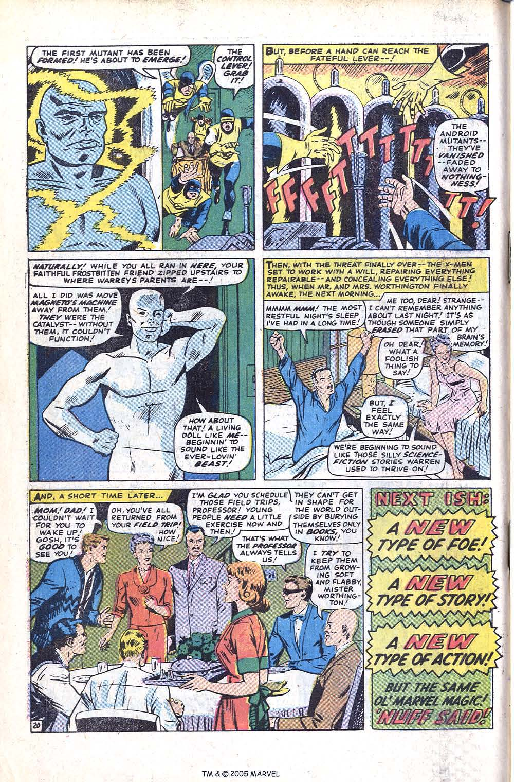 Uncanny X-Men (1963) issue 70 - Page 50
