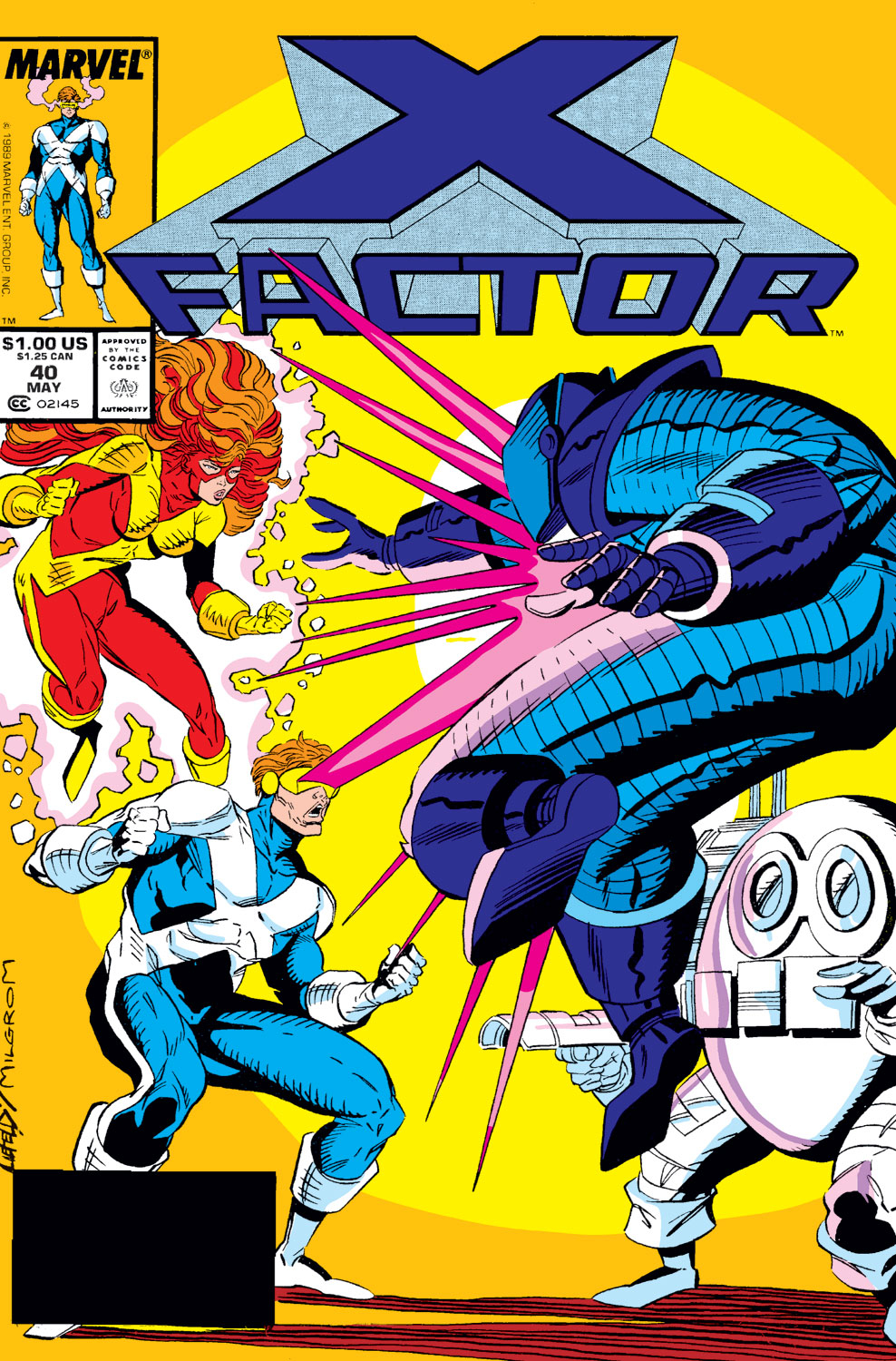 Read online X-Factor (1986) comic -  Issue #40 - 1