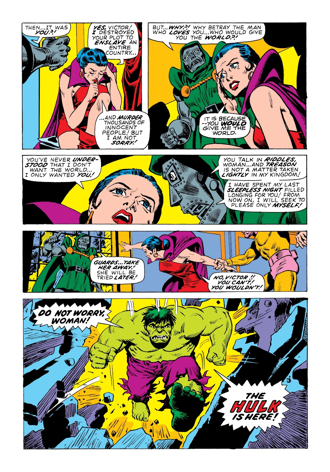 Read online Marvel Masterworks: The Incredible Hulk comic -  Issue # TPB 7 (Part 3) - 20