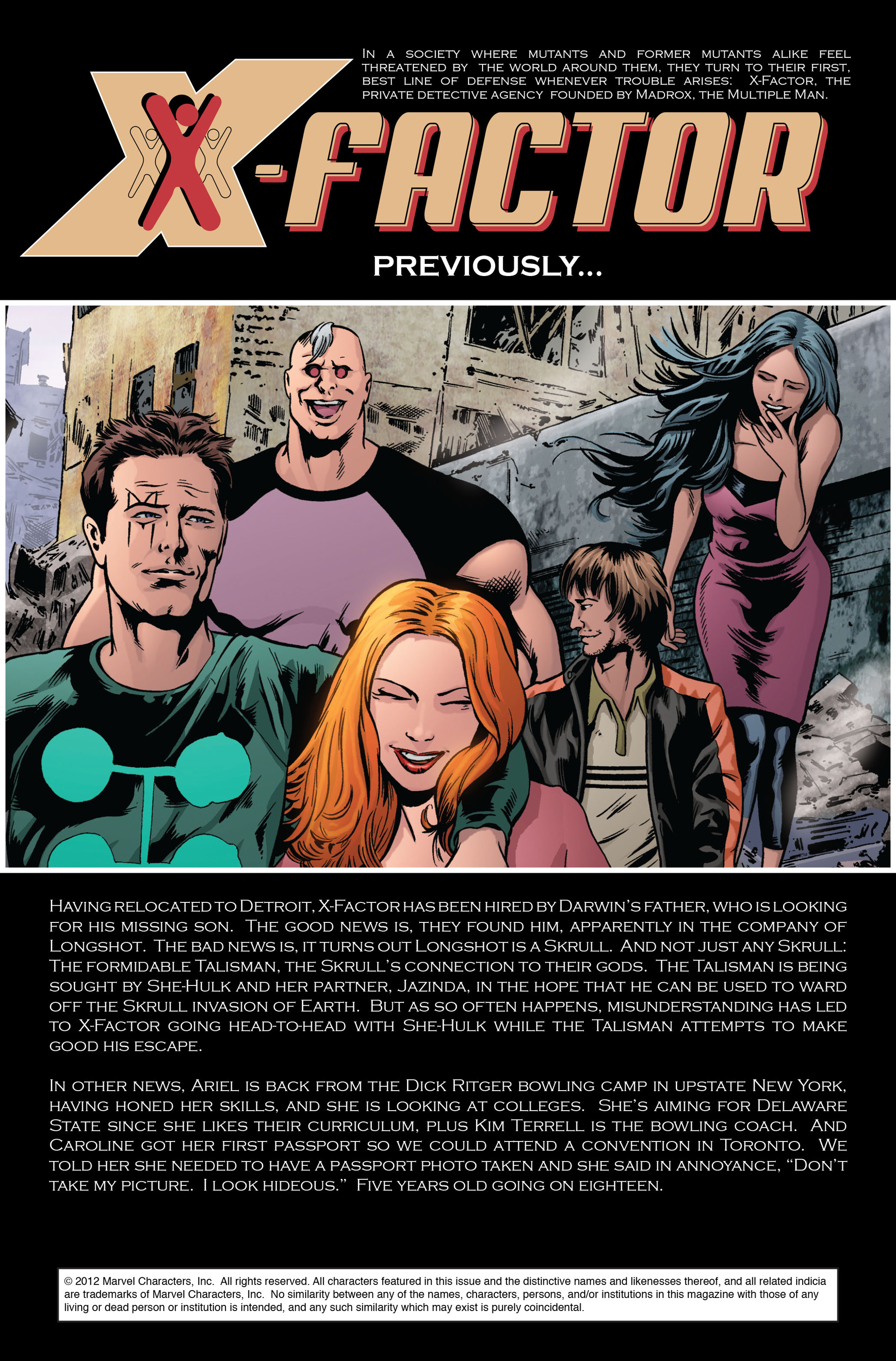 Read online X-Factor (2006) comic -  Issue #34 - 2