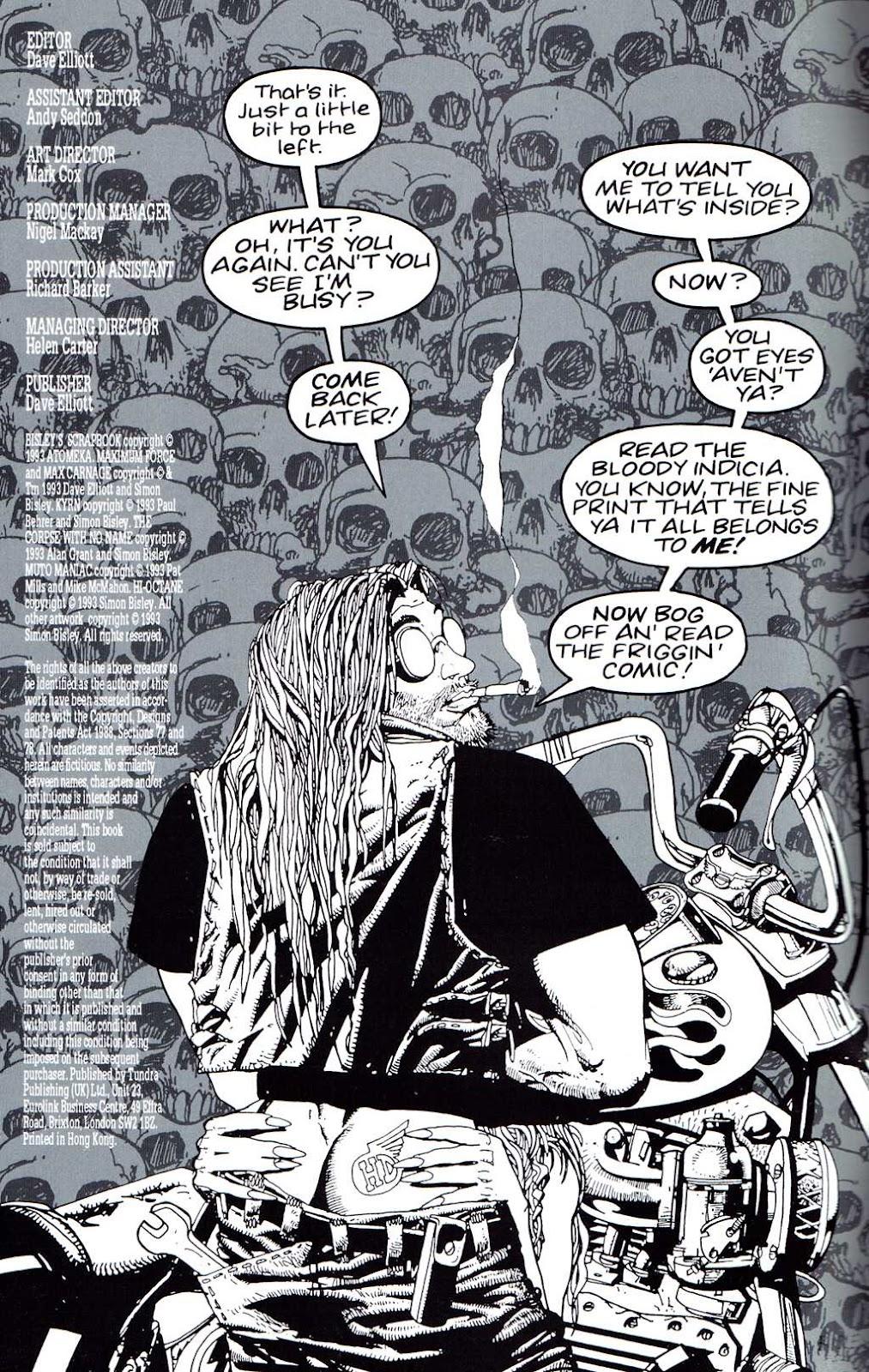Read online Bisley's Scrapbook comic -  Issue # Full - 2