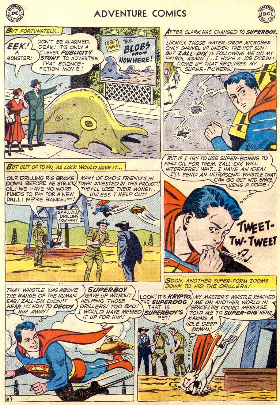 Read online Adventure Comics (1938) comic -  Issue #264 - 10
