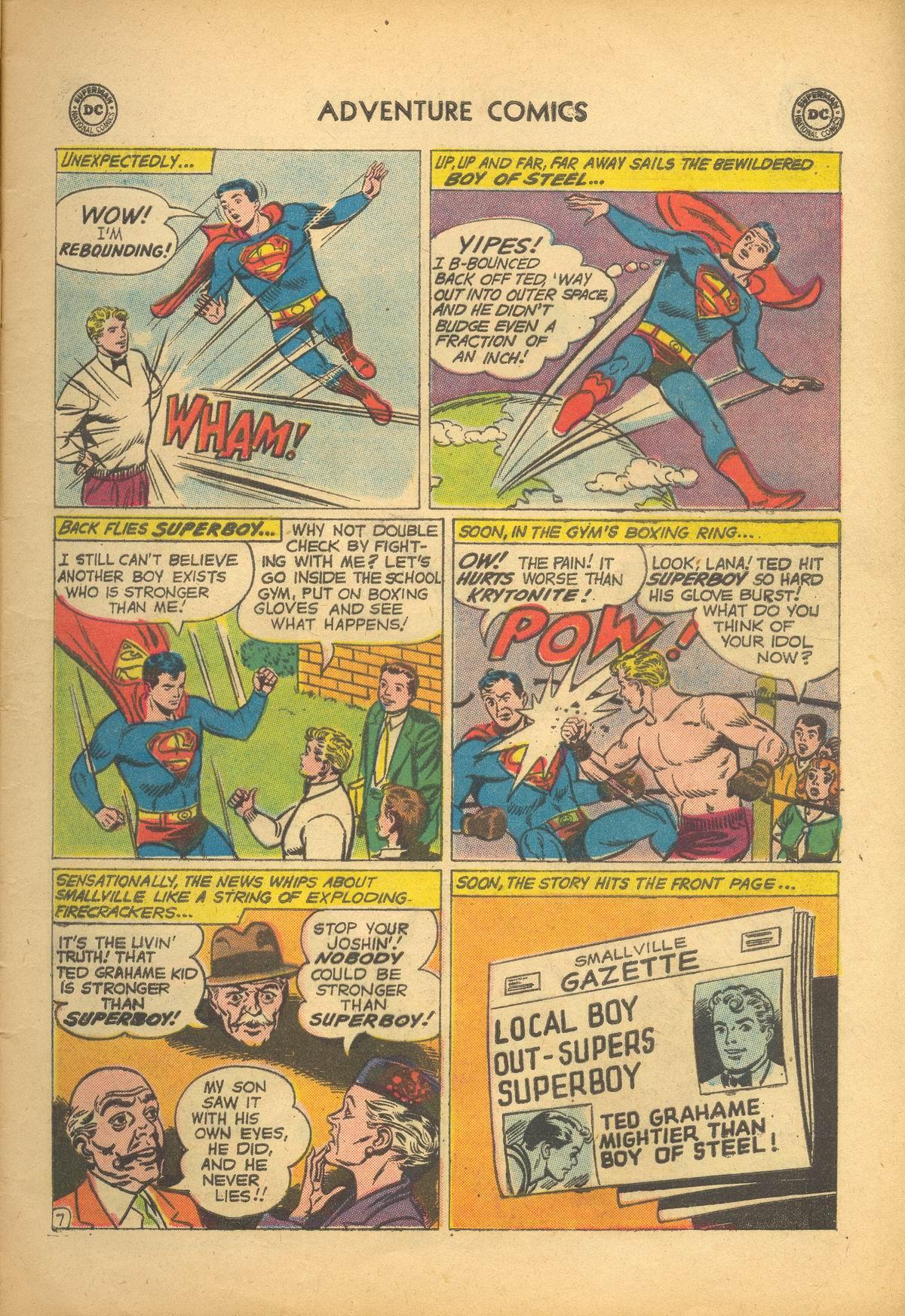 Read online Adventure Comics (1938) comic -  Issue #273 - 9