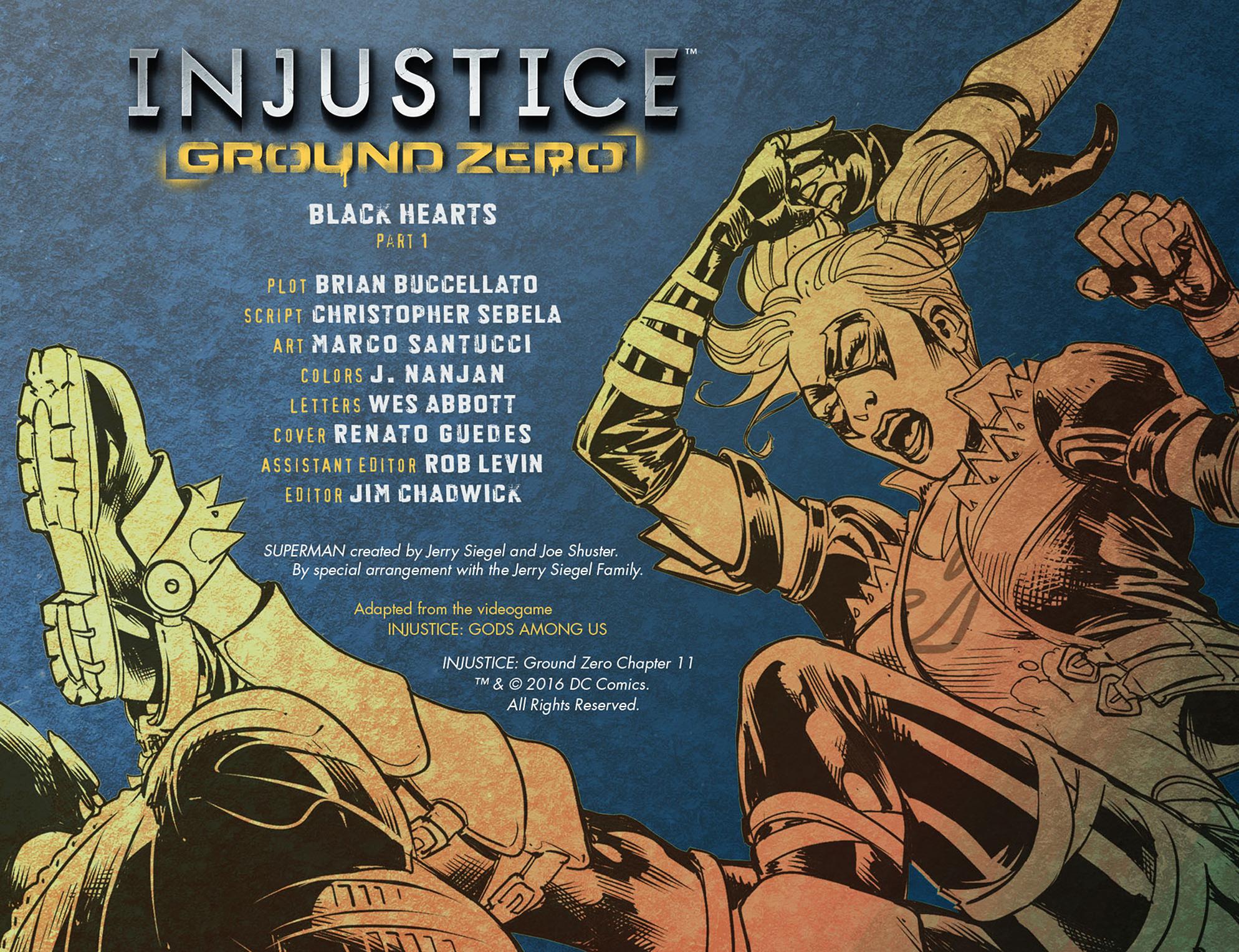 Read online Injustice: Ground Zero comic -  Issue #11 - 3