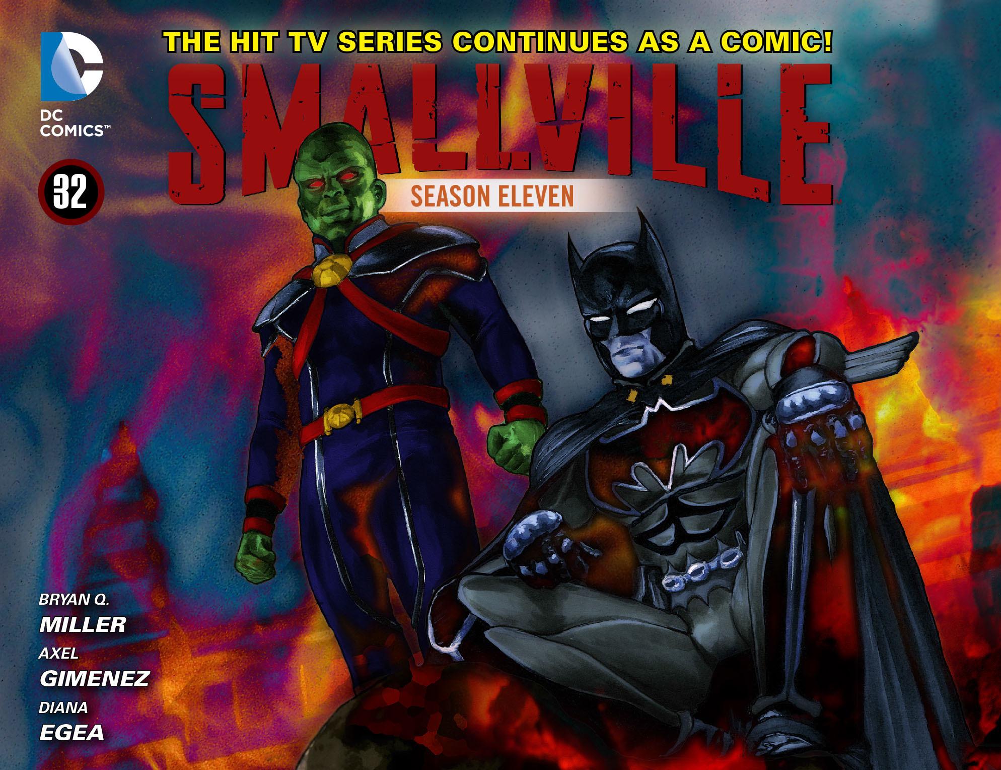 Read online Smallville: Season 11 comic -  Issue #32 - 1