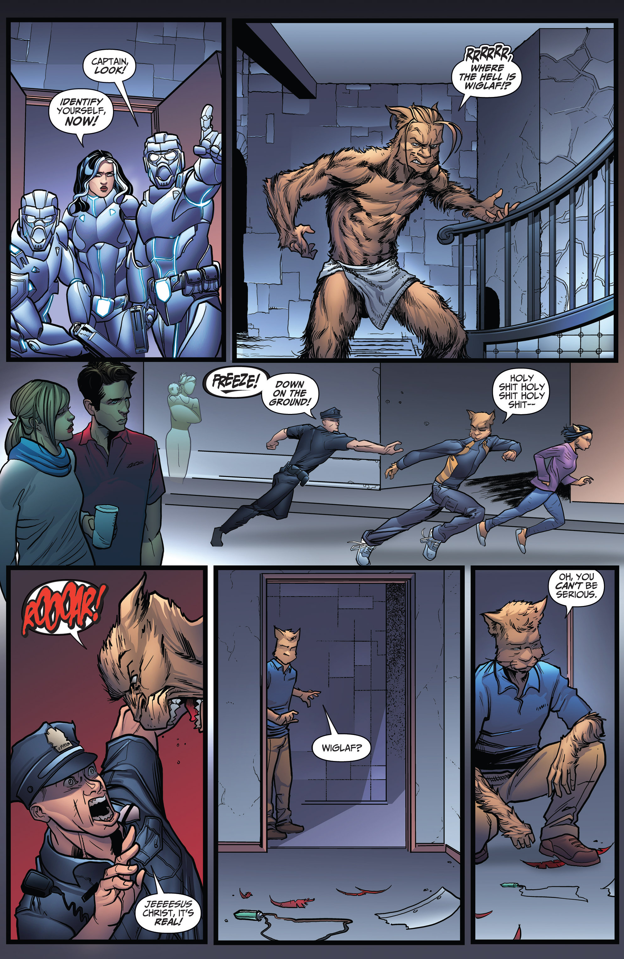 Read online Grimm Fairy Tales: Arcane Acre comic -  Issue # TPB 3 - 133