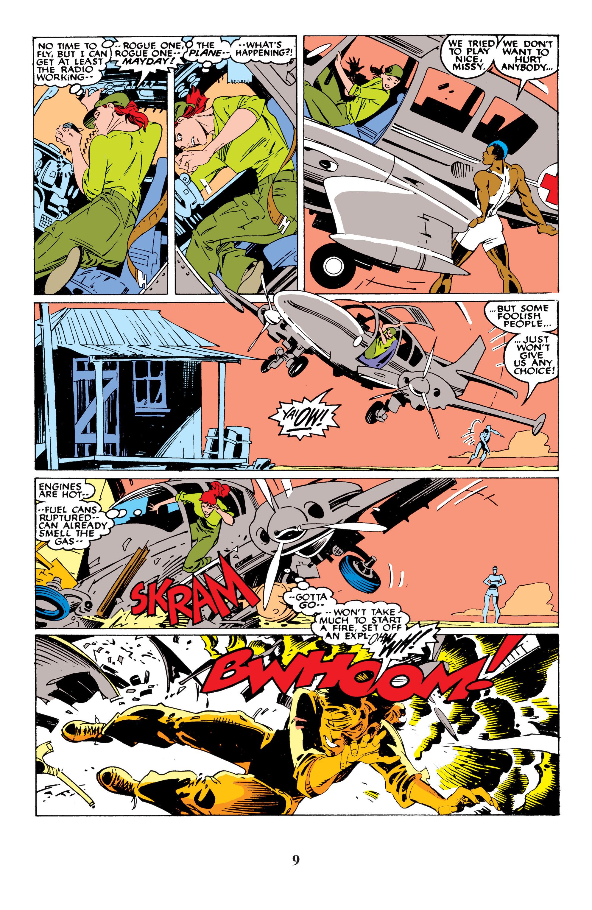 Read online Uncanny X-Men (1963) comic -  Issue #235 - 9