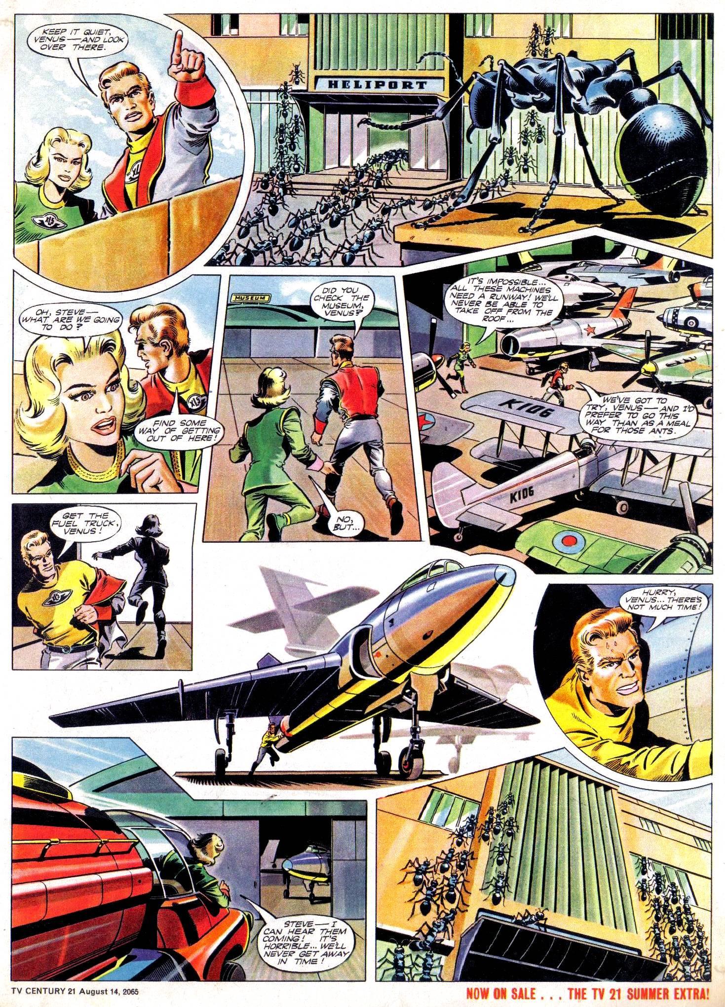Read online TV Century 21 (TV 21) comic -  Issue #30 - 5