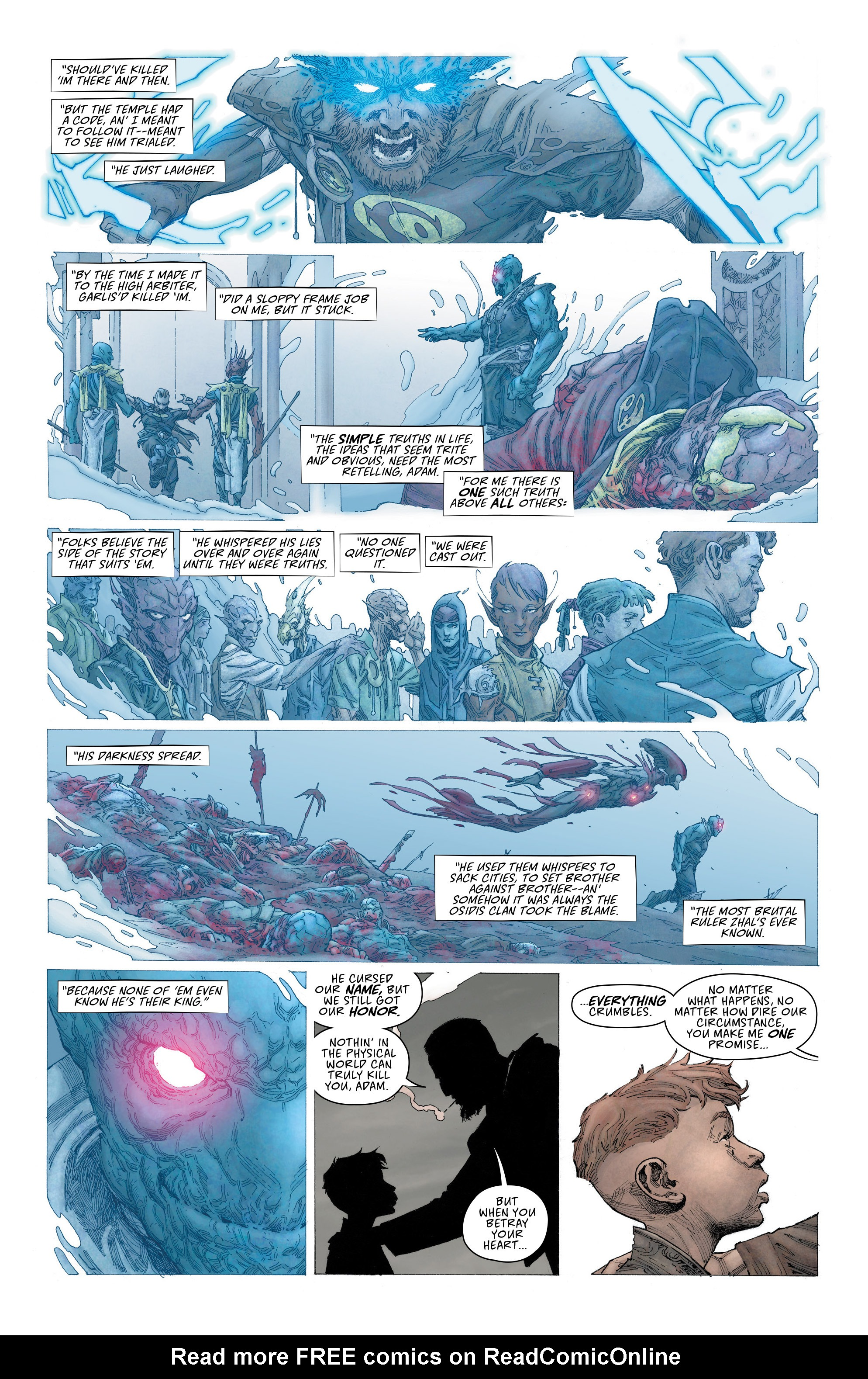 Read online Seven To Eternity comic -  Issue #2 - 10