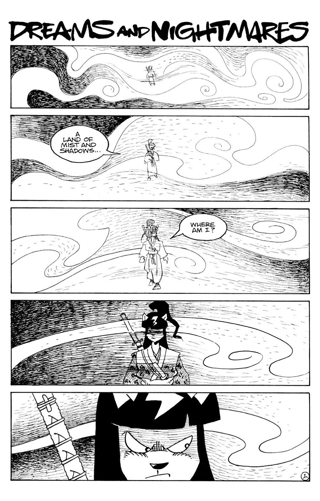 Usagi Yojimbo (1996) Issue #79 #79 - English 3