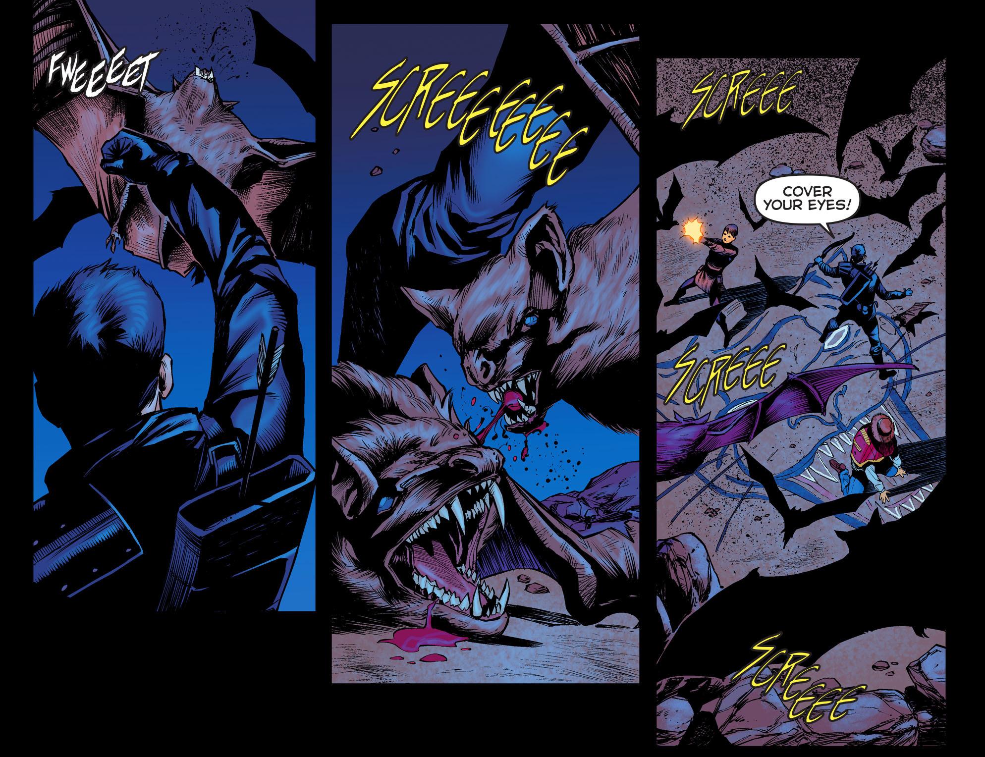 Read online Arrow: The Dark Archer comic -  Issue #3 - 17