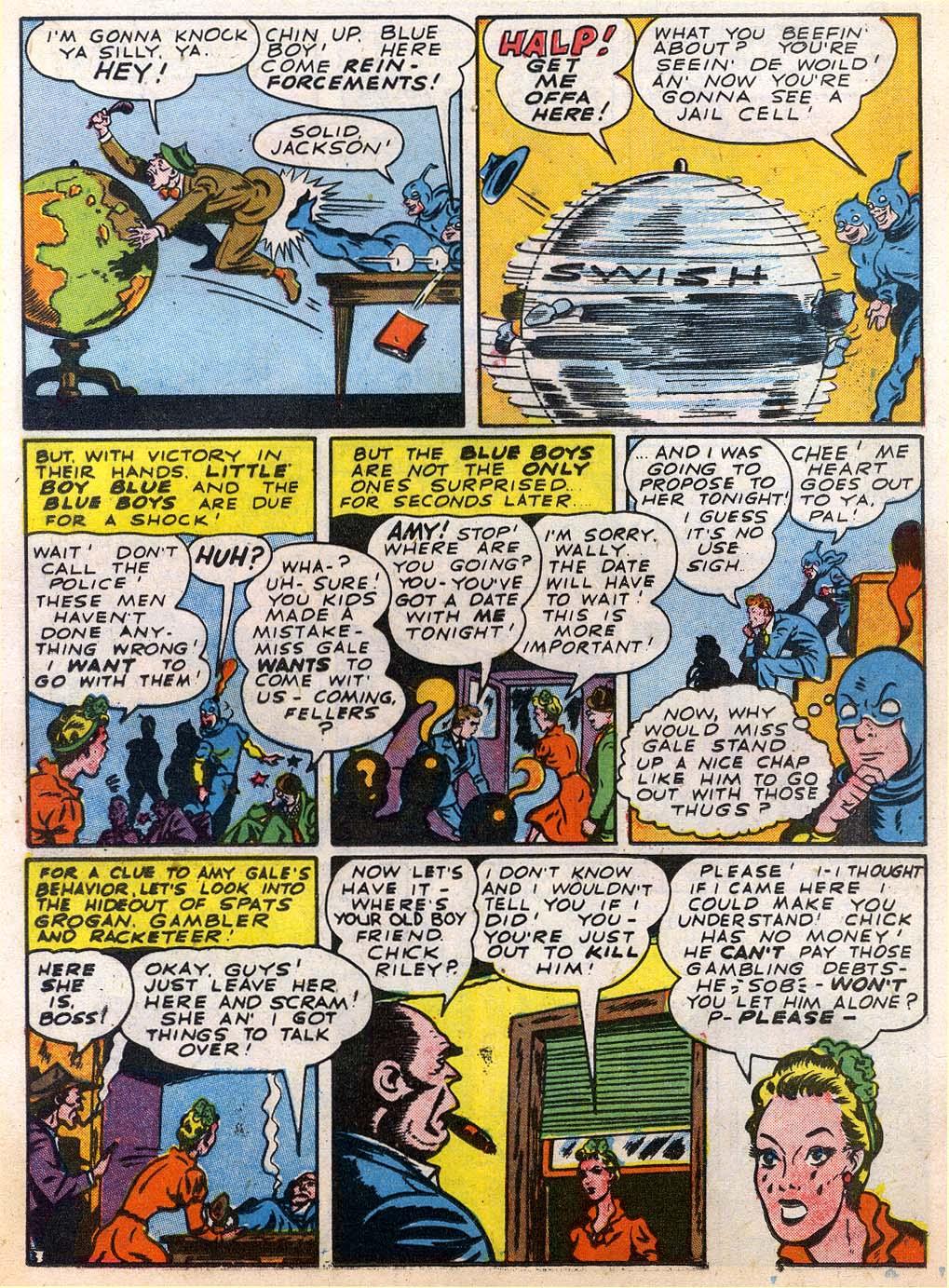 Read online Sensation (Mystery) Comics comic -  Issue #27 - 27