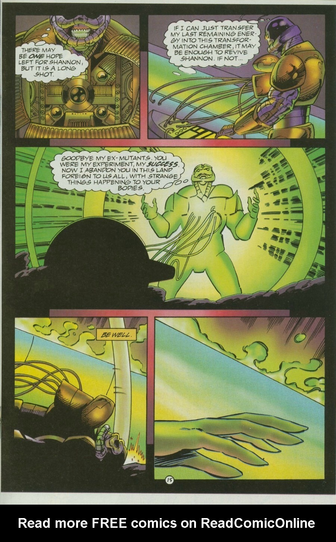 Read online Ex-Mutants comic -  Issue #12 - 18