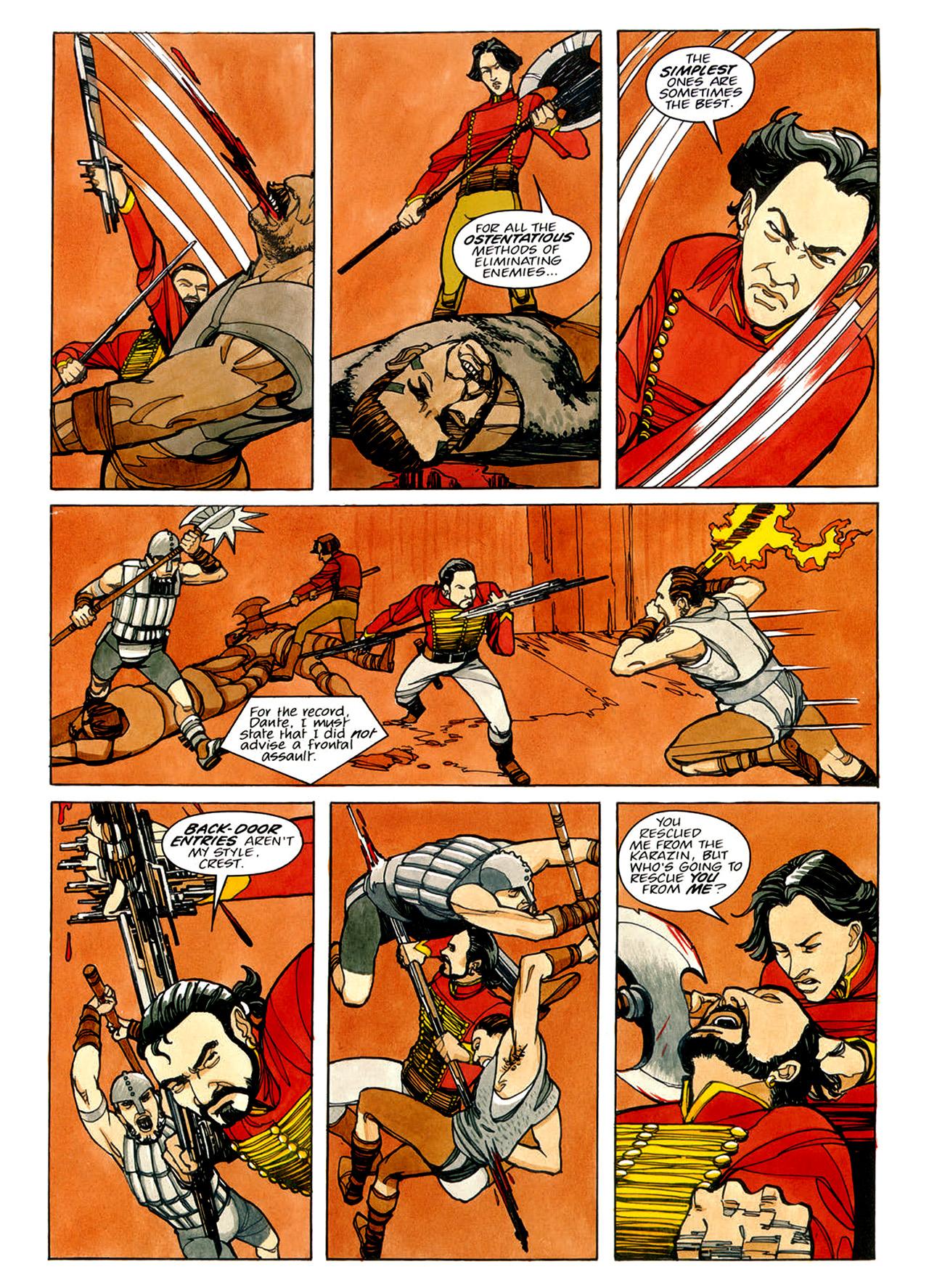 Read online Nikolai Dante comic -  Issue # TPB 1 - 71