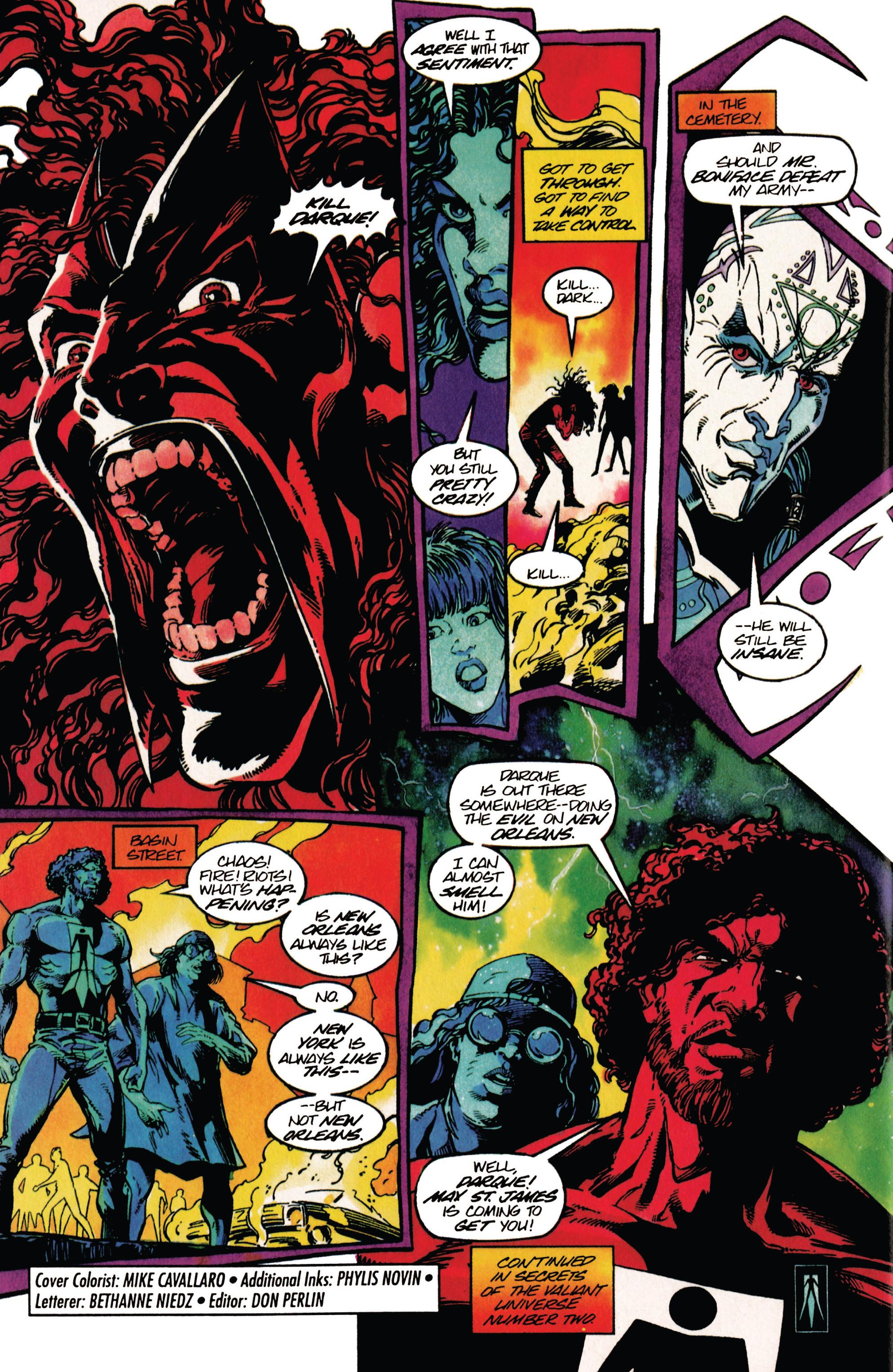 Read online Shadowman (1992) comic -  Issue #29 - 22