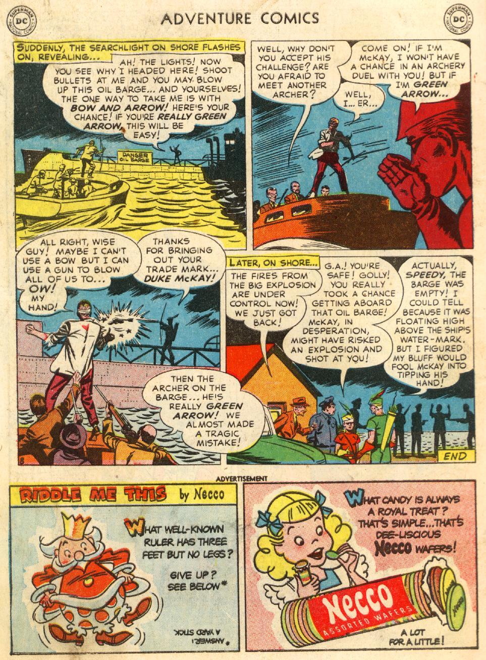Read online Adventure Comics (1938) comic -  Issue #170 - 42