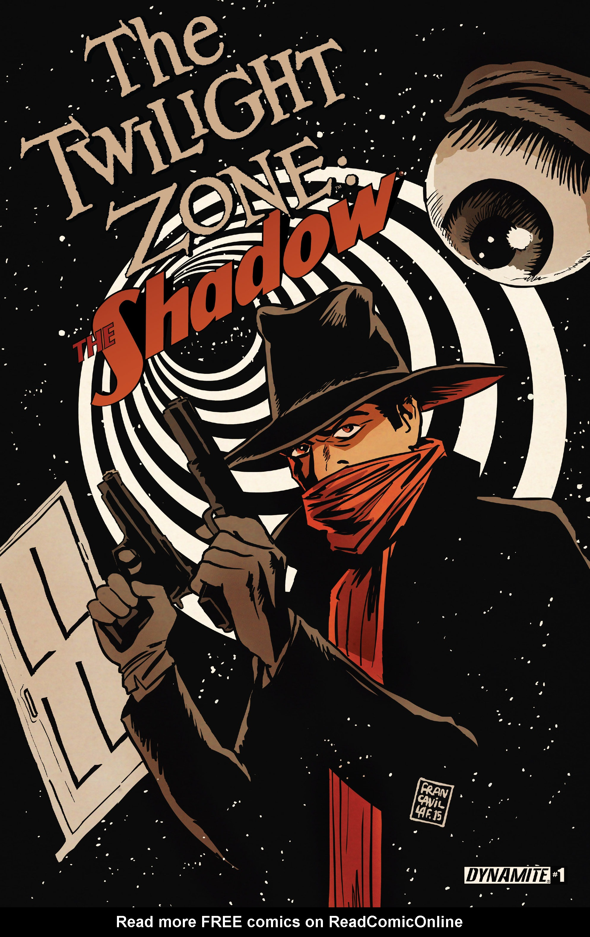 Read online Twilight Zone The Shadow comic -  Issue #1 - 1