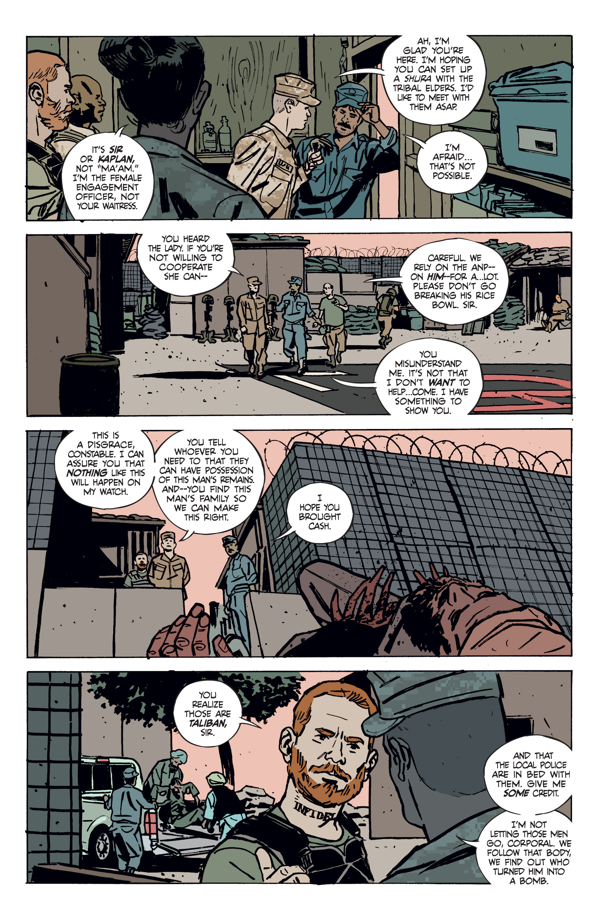 Read online Graveyard of Empires comic -  Issue # TPB - 26
