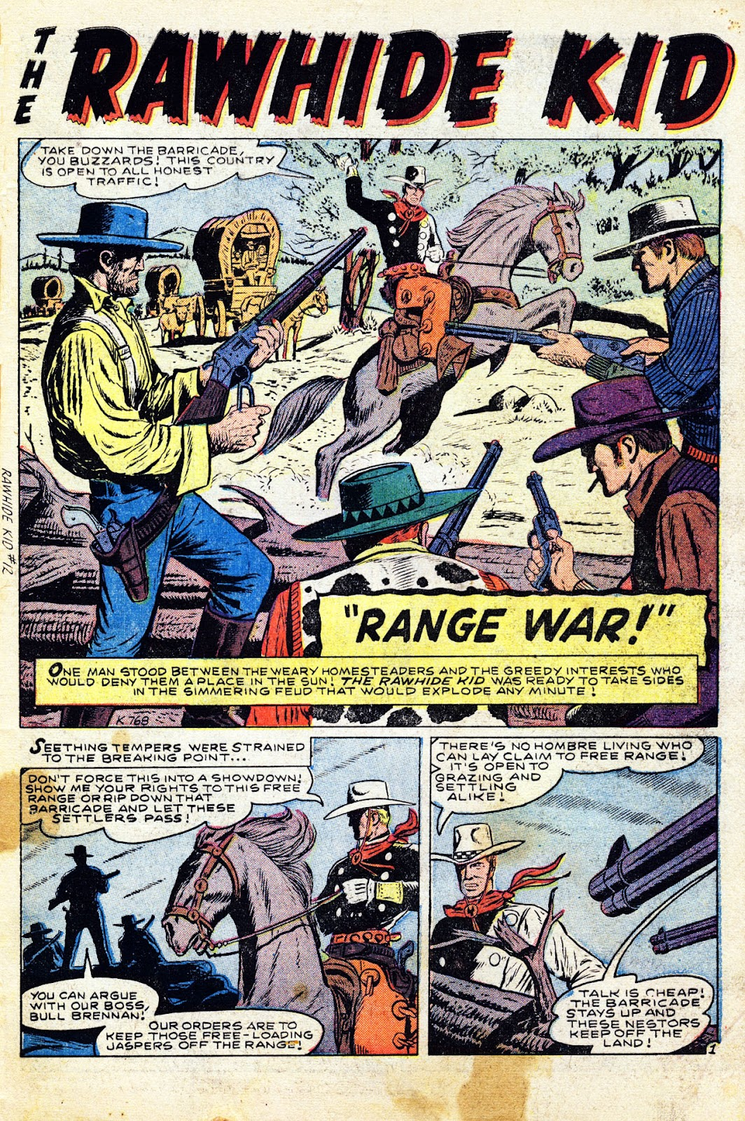 The Rawhide Kid (1955) issue 12 - Page 3