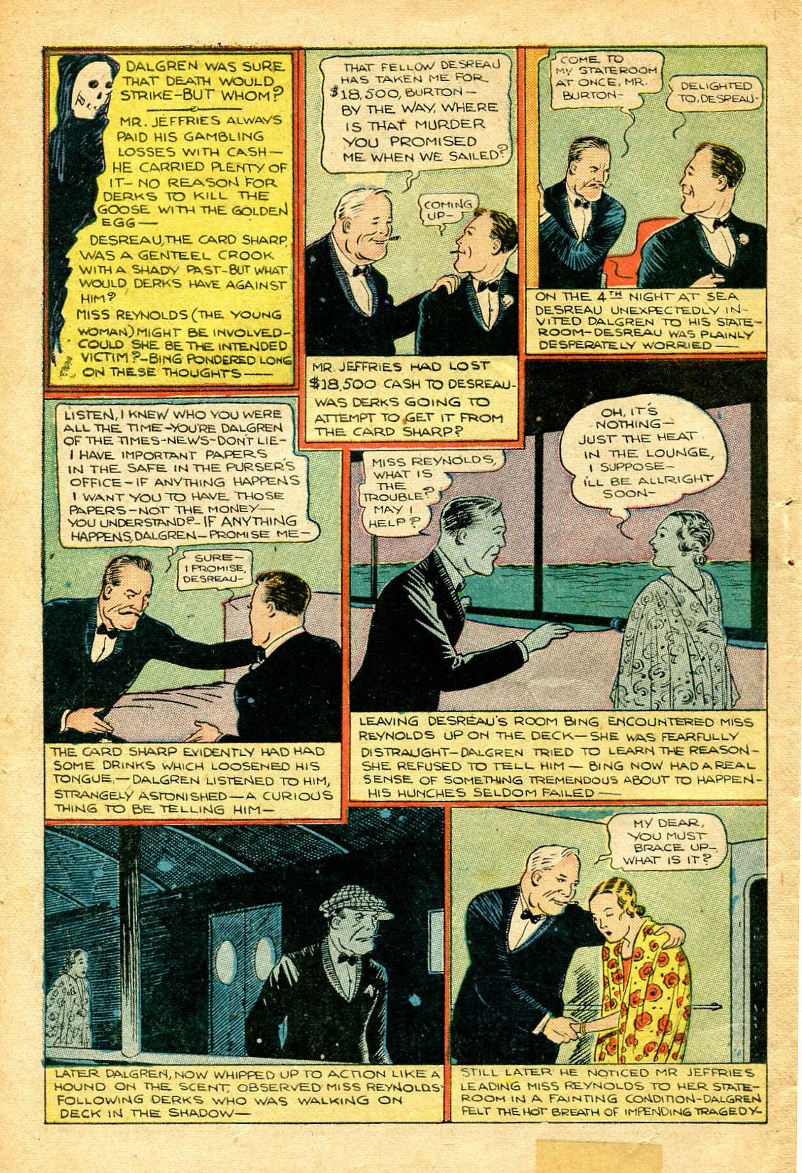 Read online Shadow Comics comic -  Issue #51 - 49