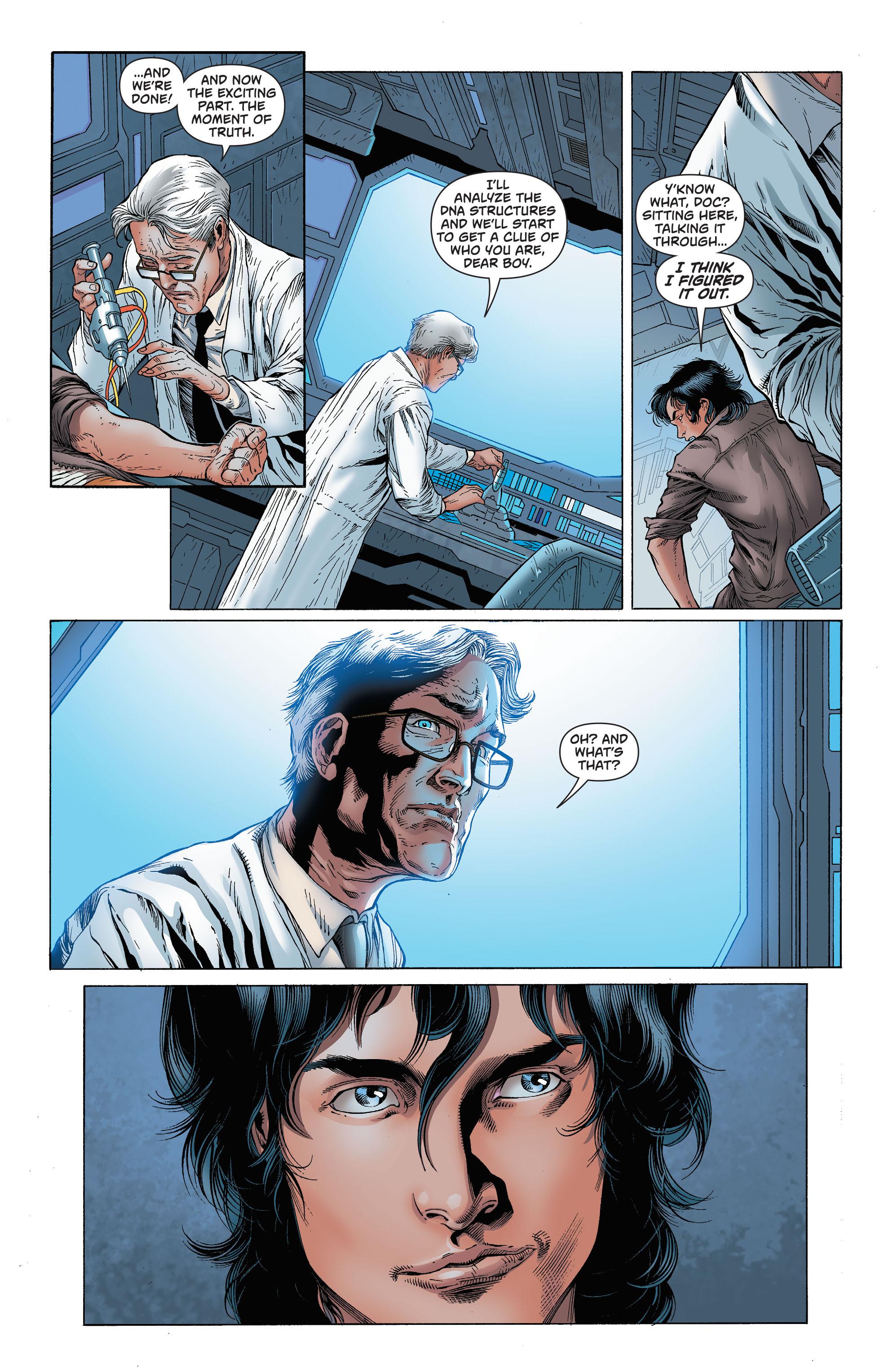 Read online Secret Origins (2014) comic -  Issue #7 - 36