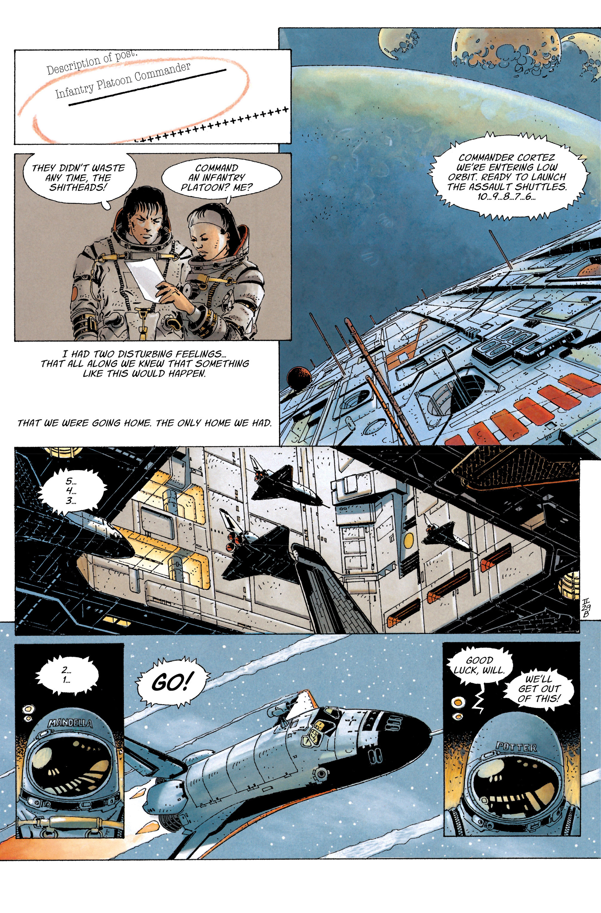 Read online The Forever War (2017) comic -  Issue #4 - 9