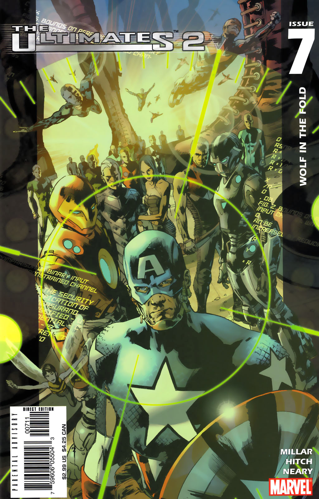 Read online Ultimates 2 comic -  Issue #7 - 1