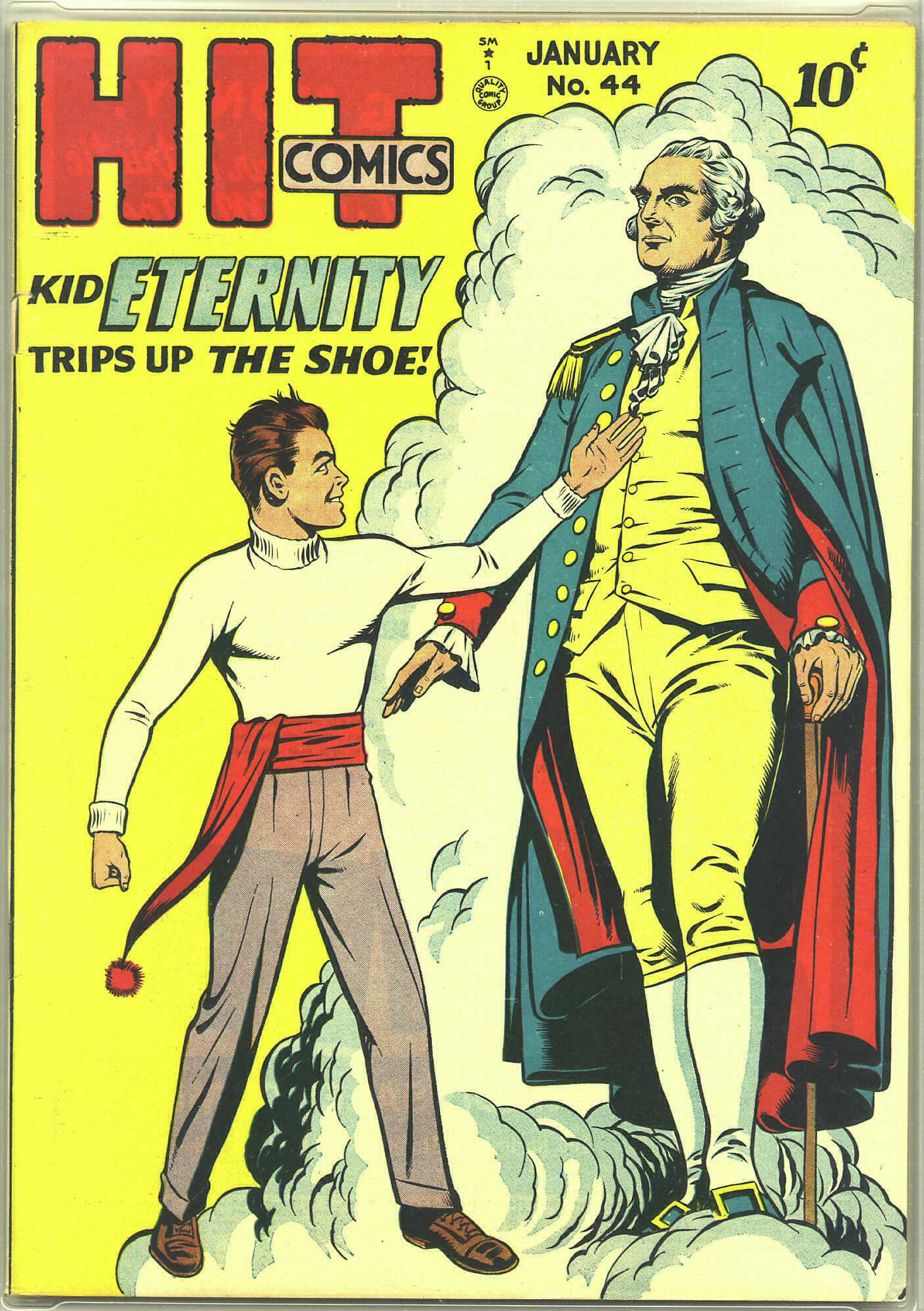 Read online Hit Comics comic -  Issue #44 - 1